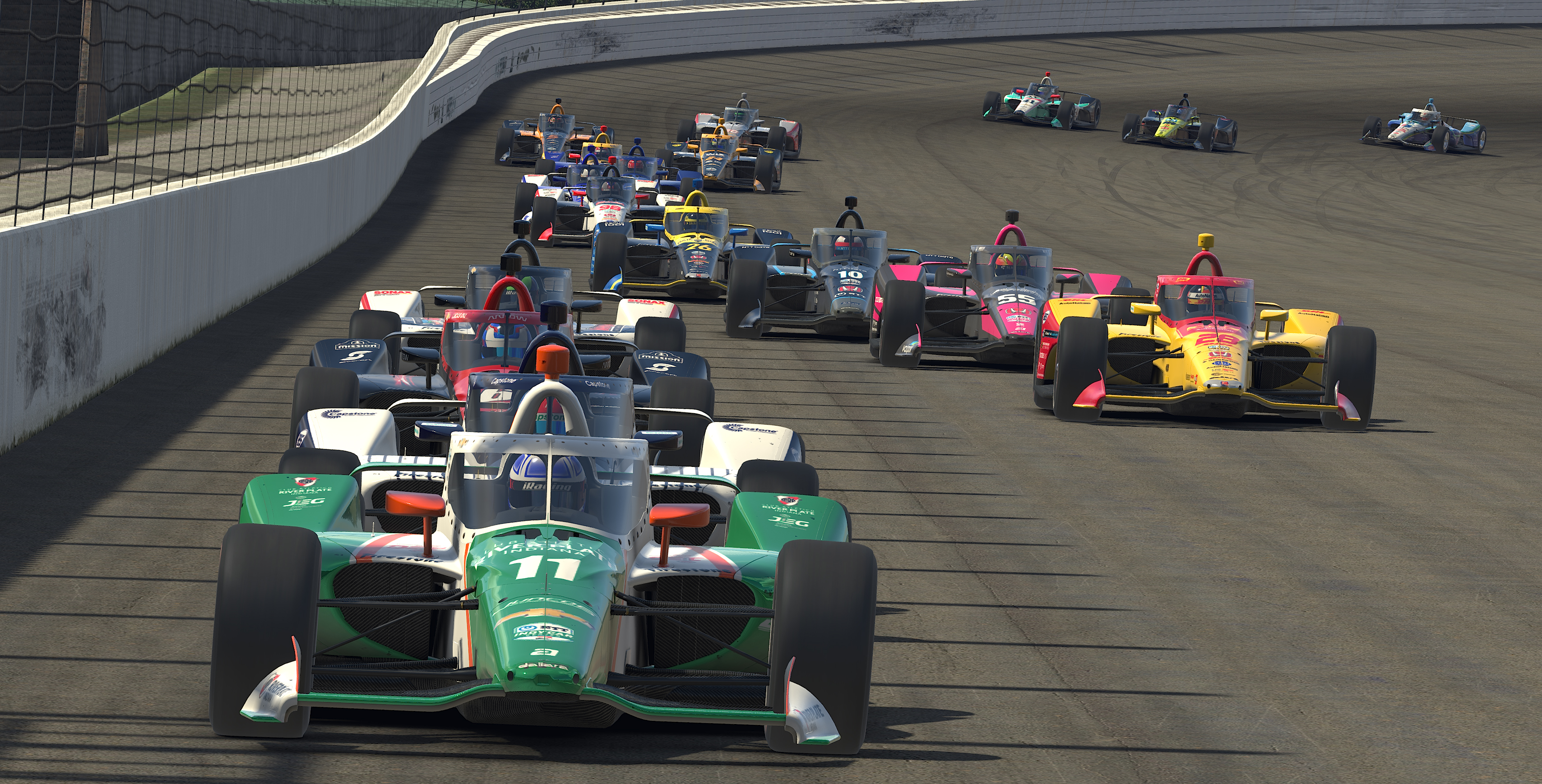 Indycar Iracing Challenge Firestone 175