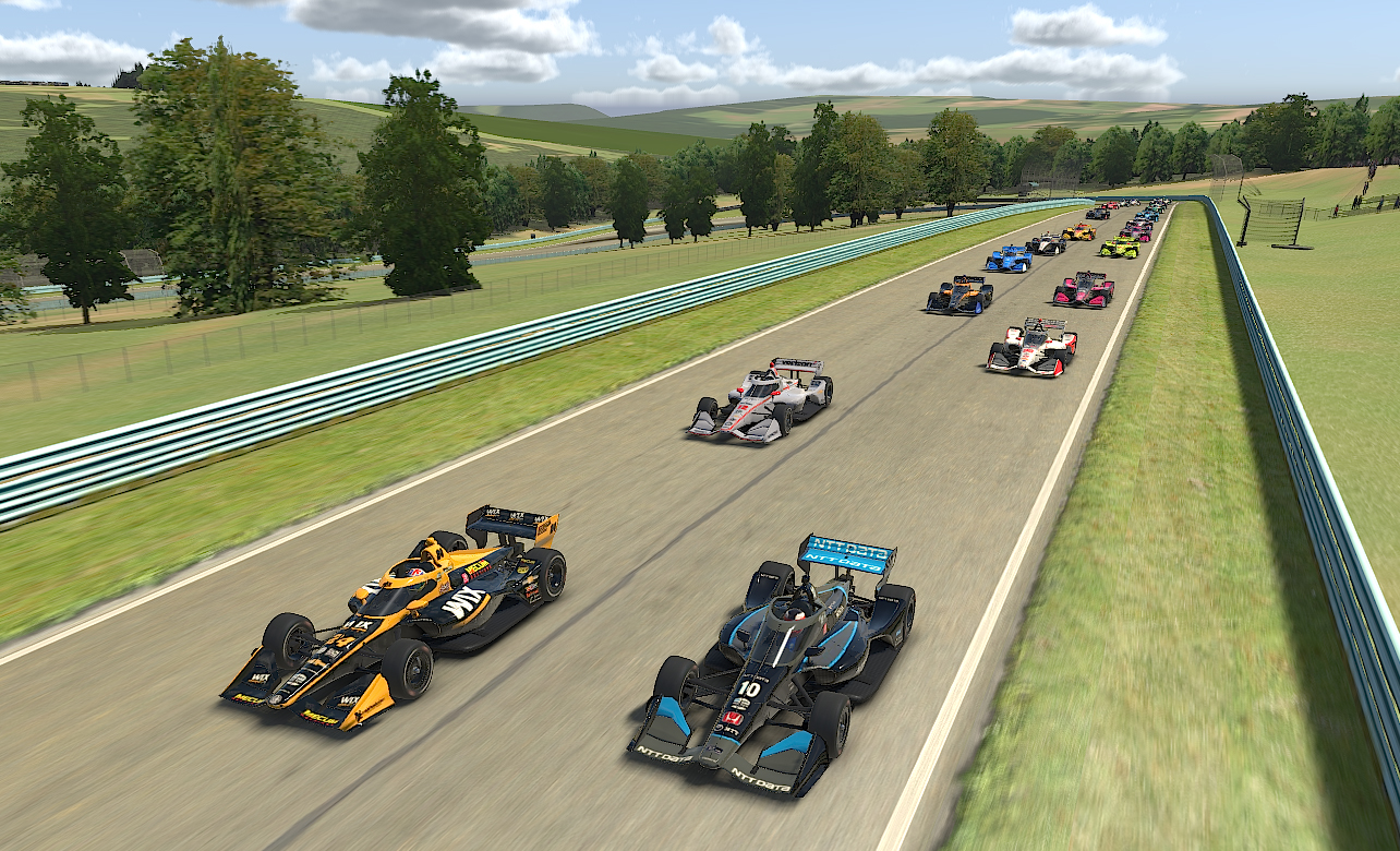 Indycar Iracing Challenge American Red Cross Grand Prix