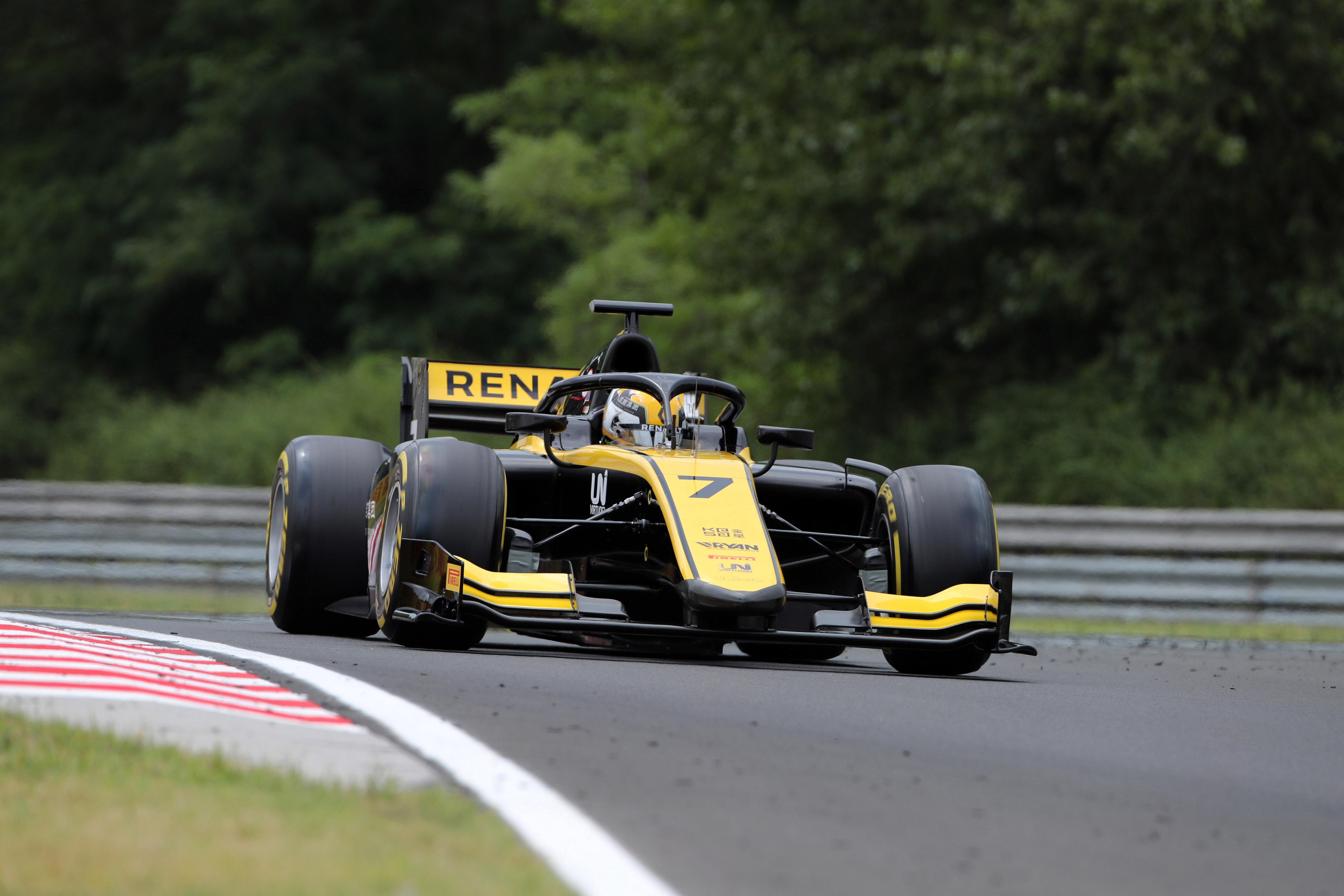 Motor Racing Fia Formula 2 Championship Friday Budapest, Hungary