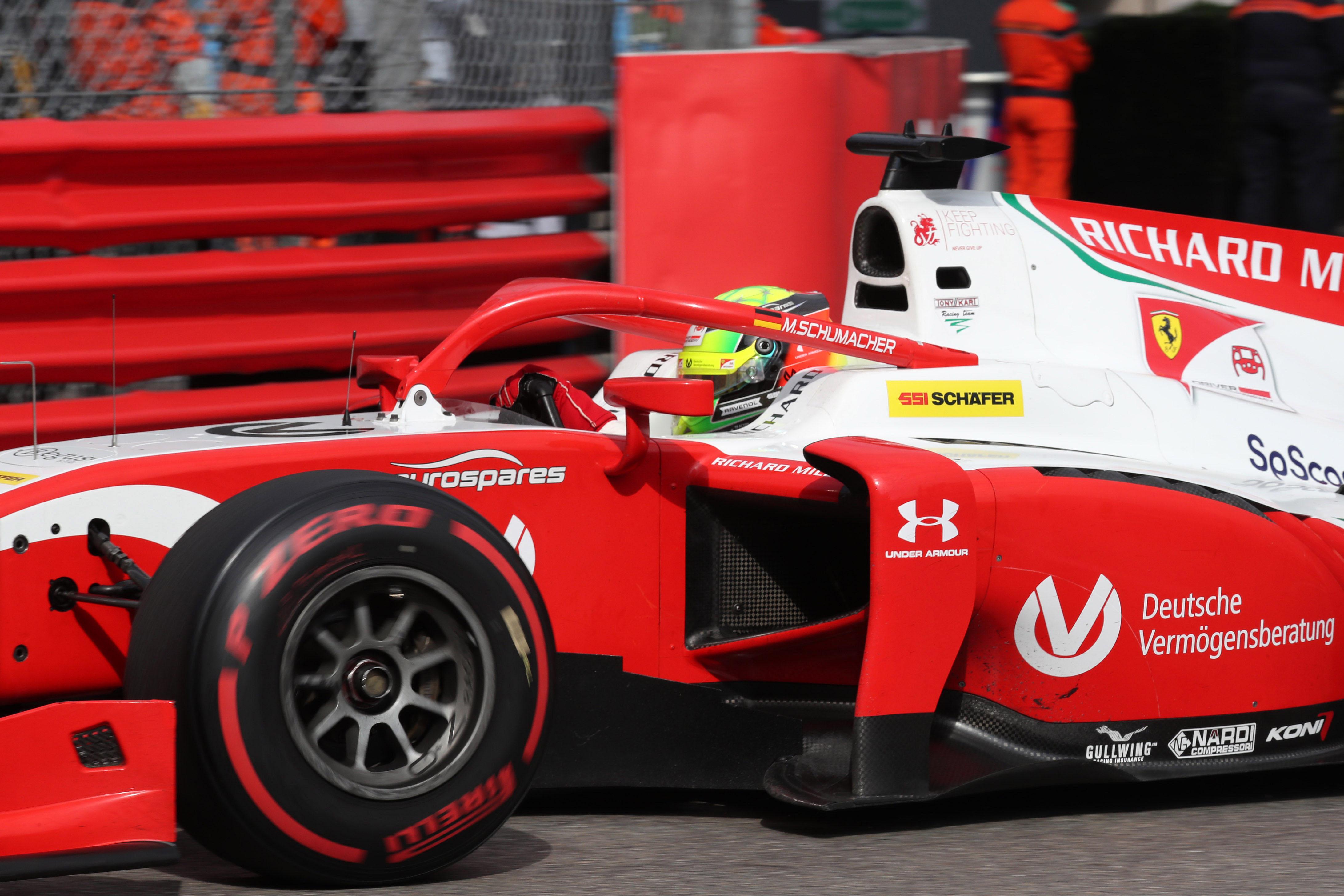 Motor Racing Fia Formula 2 Championship Thursday Monte Carlo, Monaco