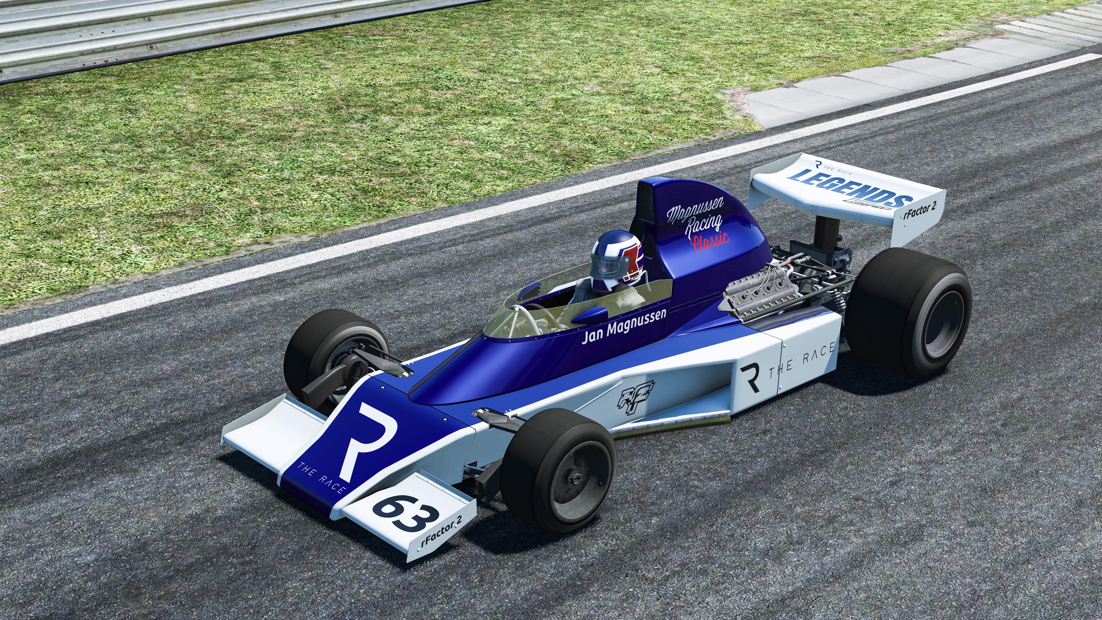 Jan Magnussen The Race Legends Trophy 2020