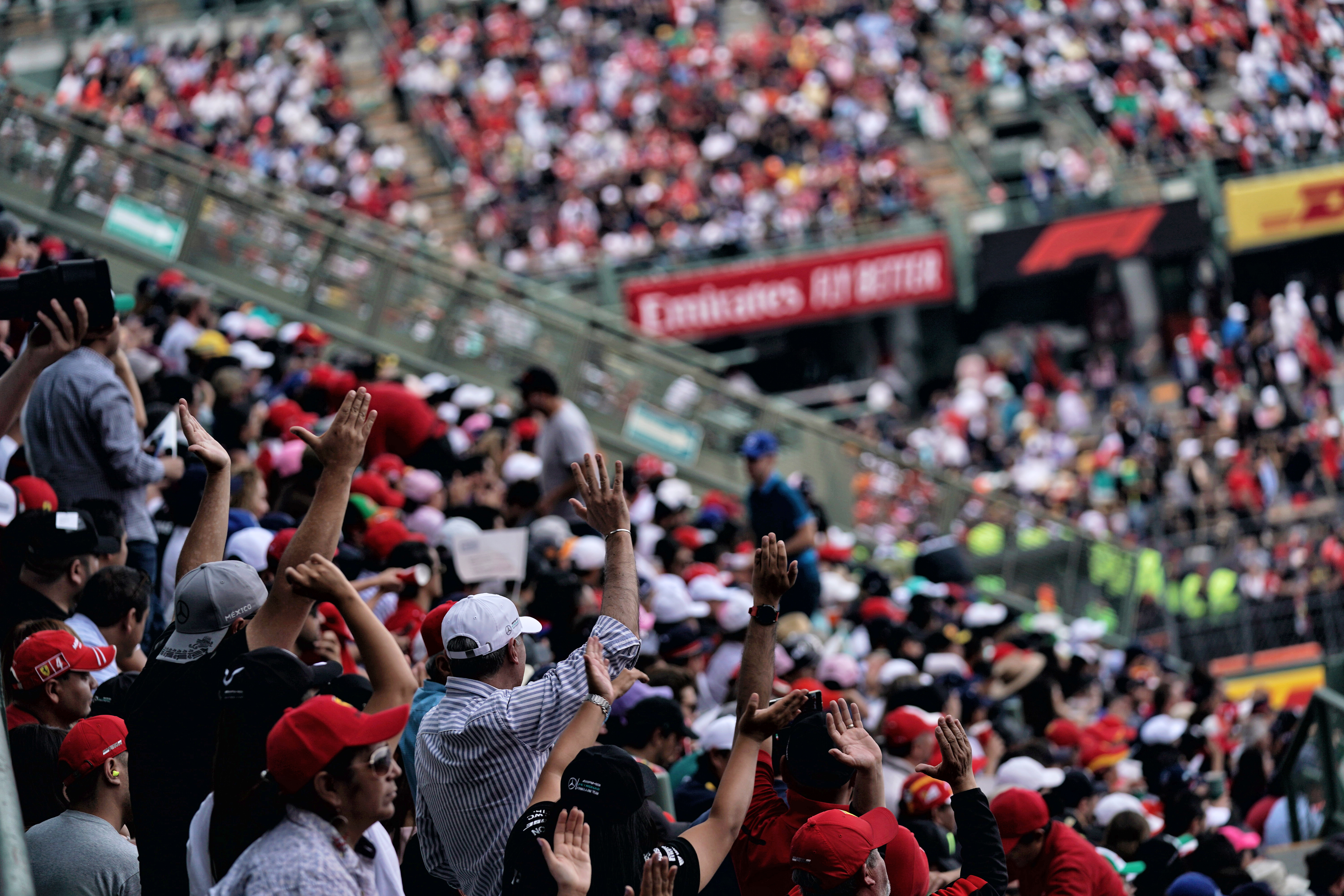 Motor Racing Formula One World Championship Mexican Grand Prix Race Day Mexico City, Mexico