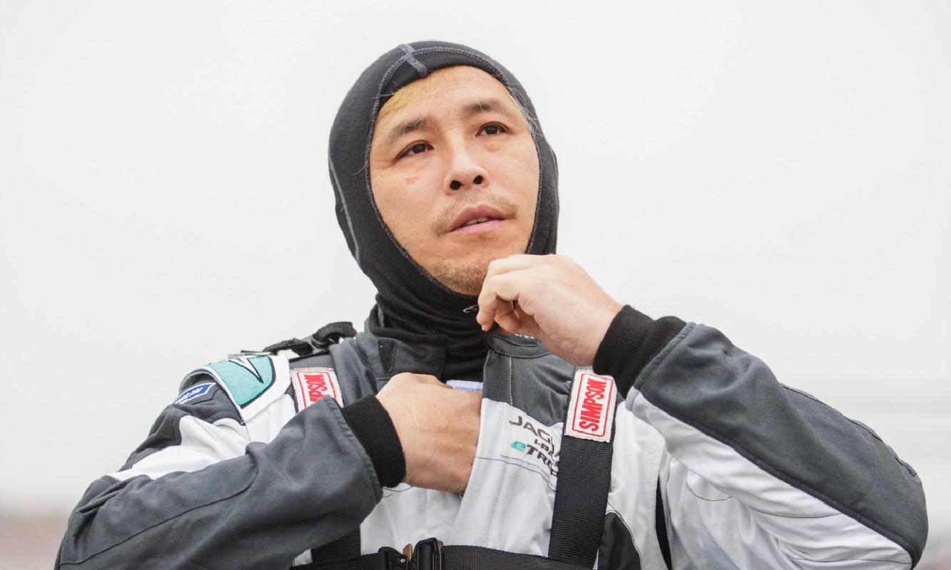 Takuma Aoki Jaguar I-PACE