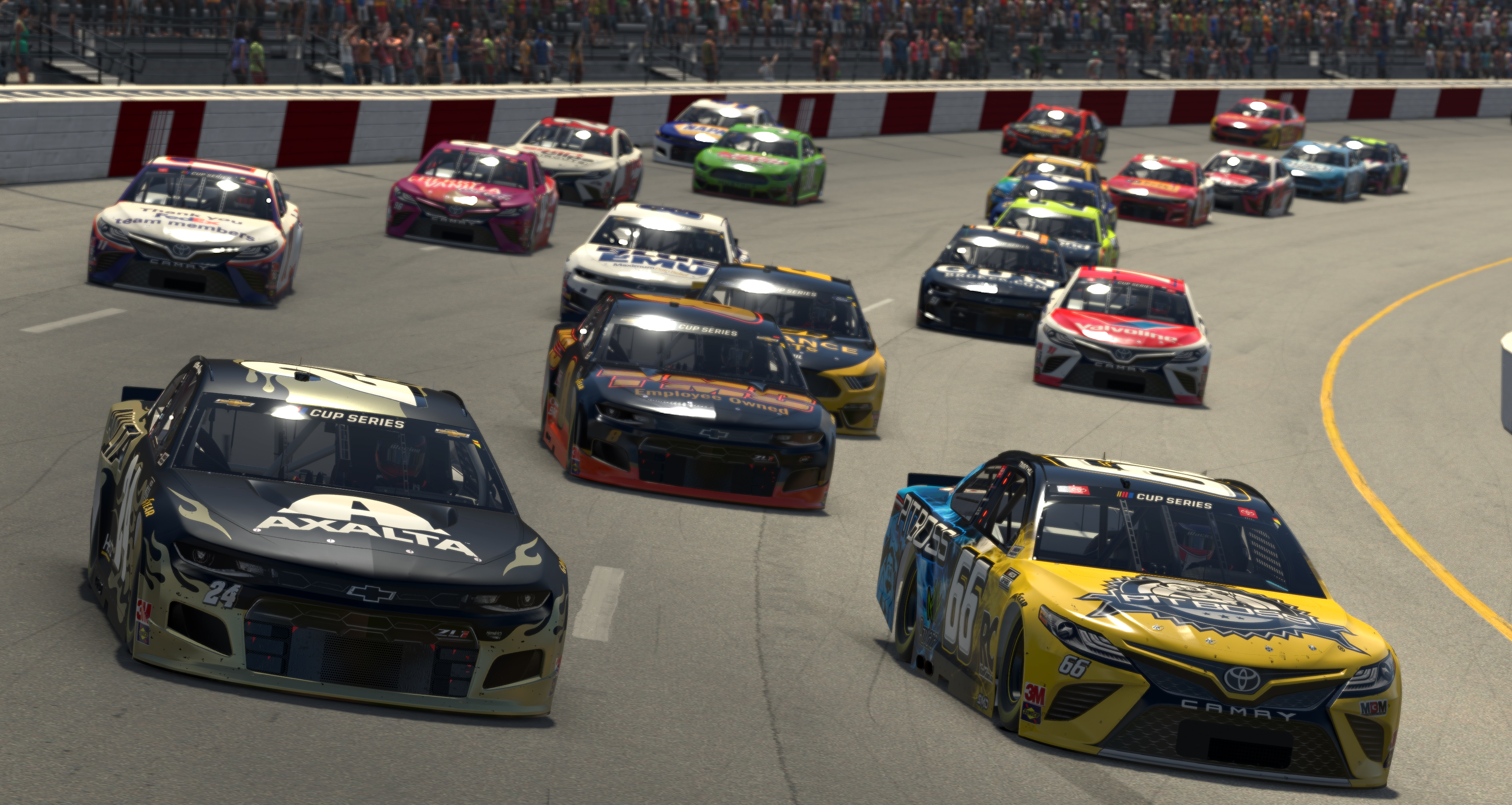 Enascar Iracing Pro Invitational Series Toyota Owners 150