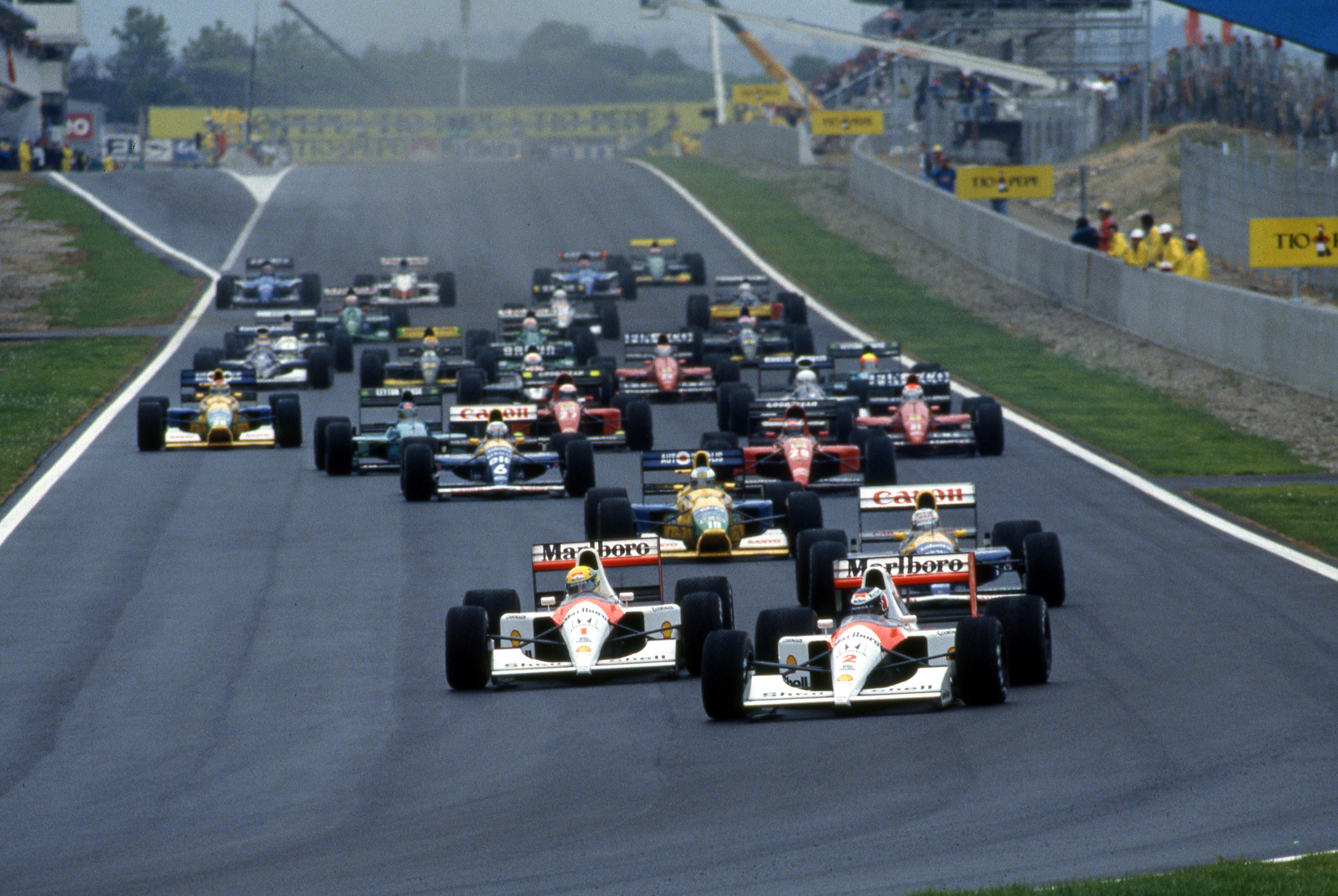 Spanish Grand Prix Barcelona (esp) 27 29 09 1991