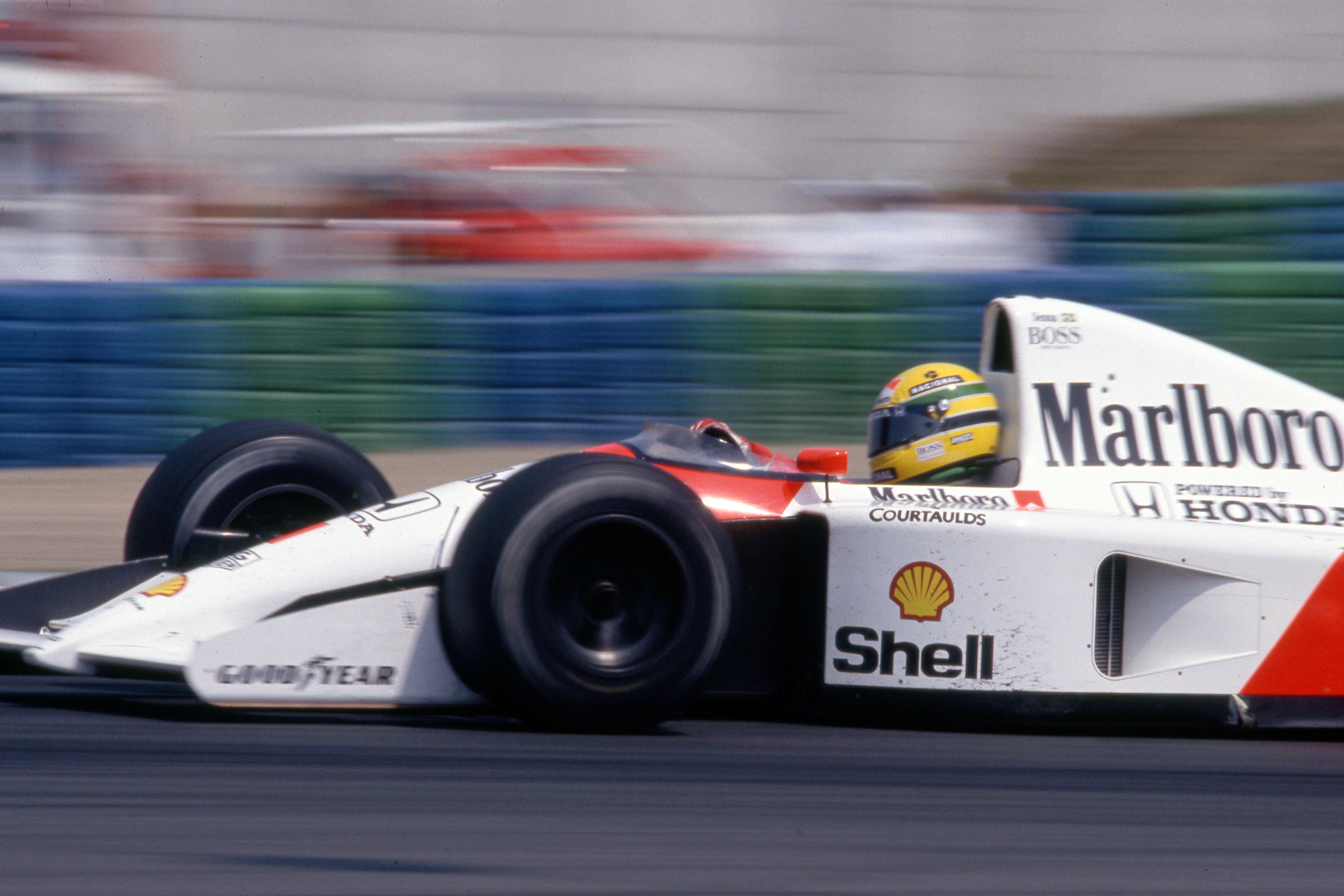 Ayrton Senna McLaren Spanish Grand Prix 1991 Barcelona