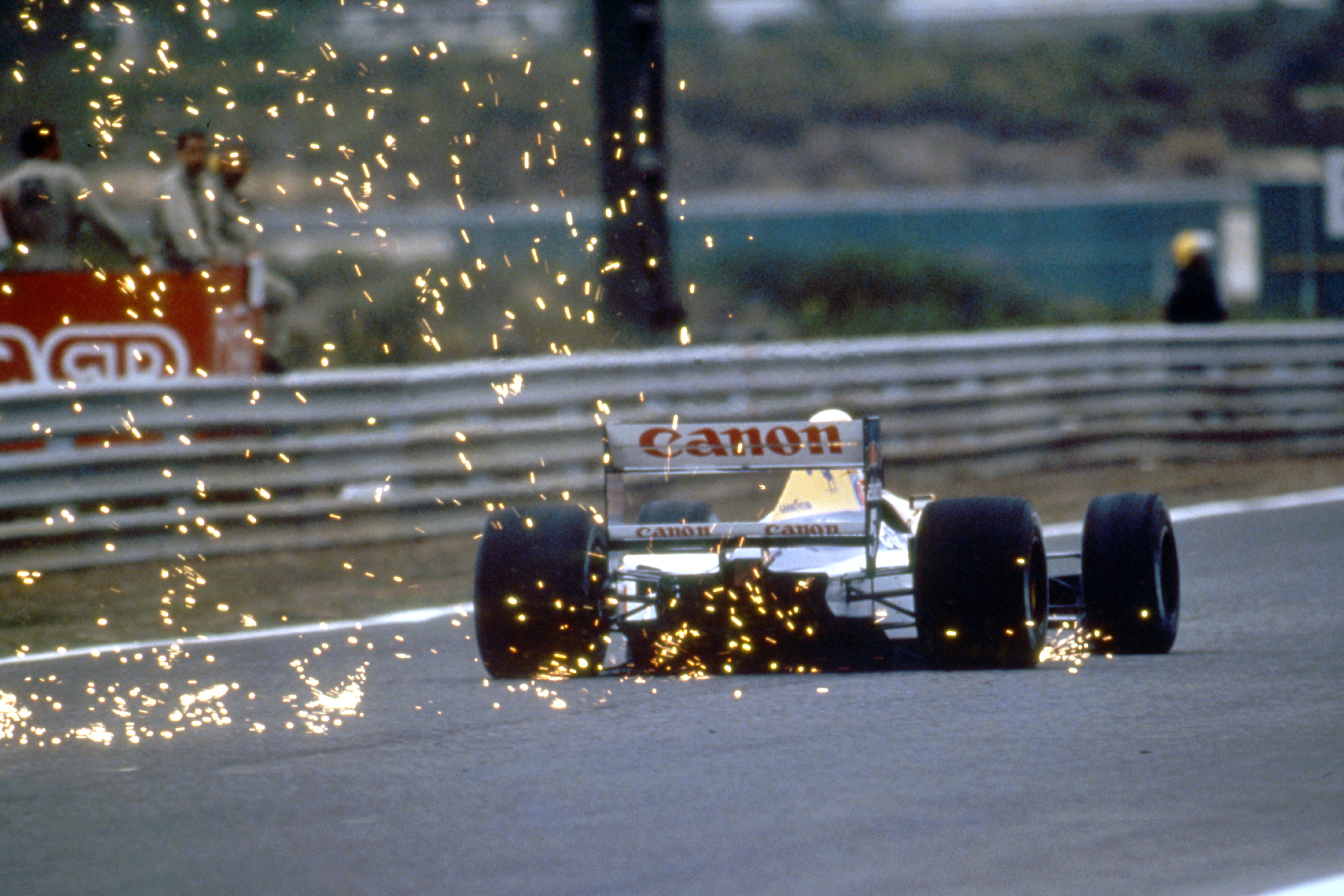 Nigel Mansell Williams Spanish Grand Prix 1991 Barcelona