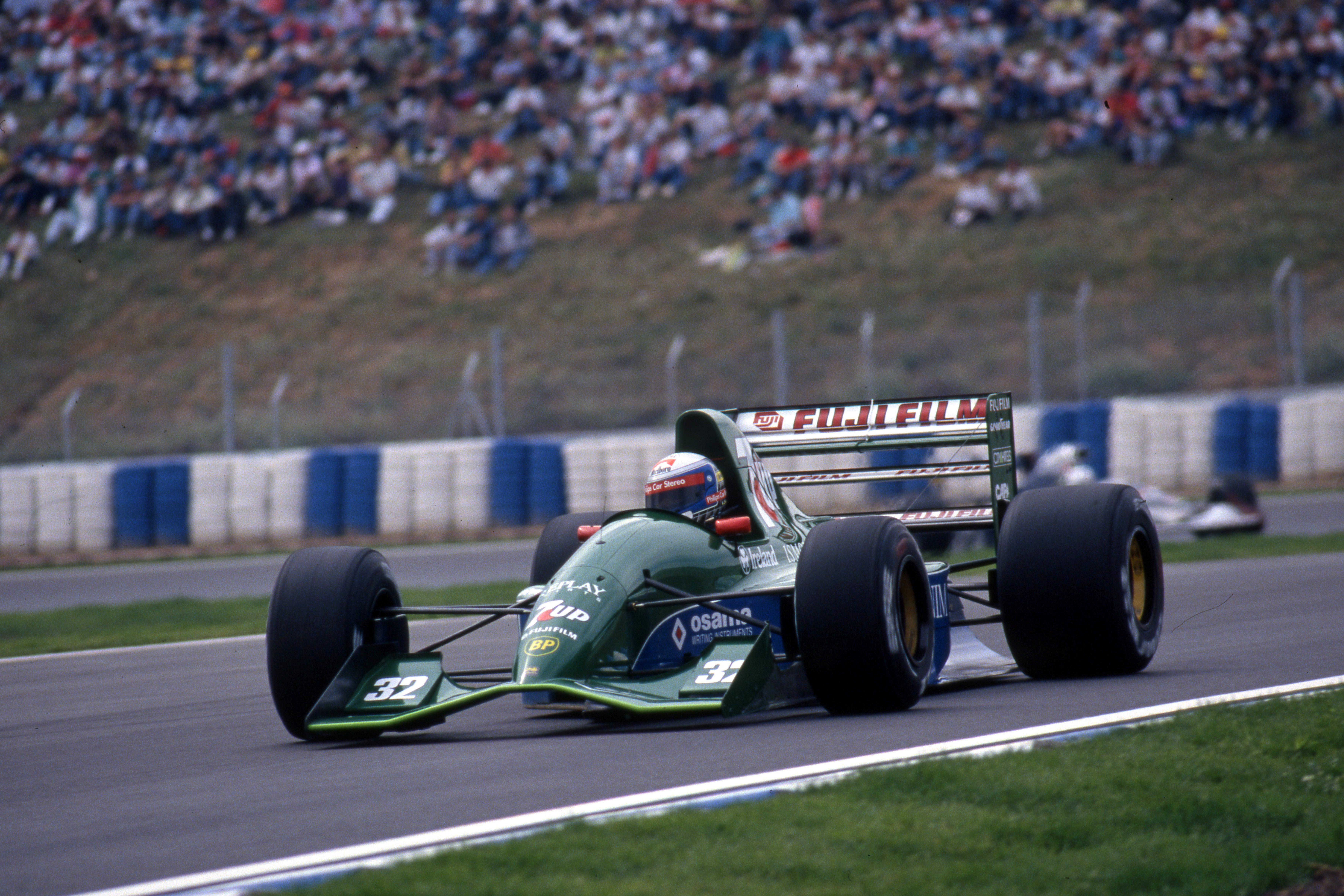 Alessandro Zanardi Jordan Spanish Grand Prix 1991 Barcelona