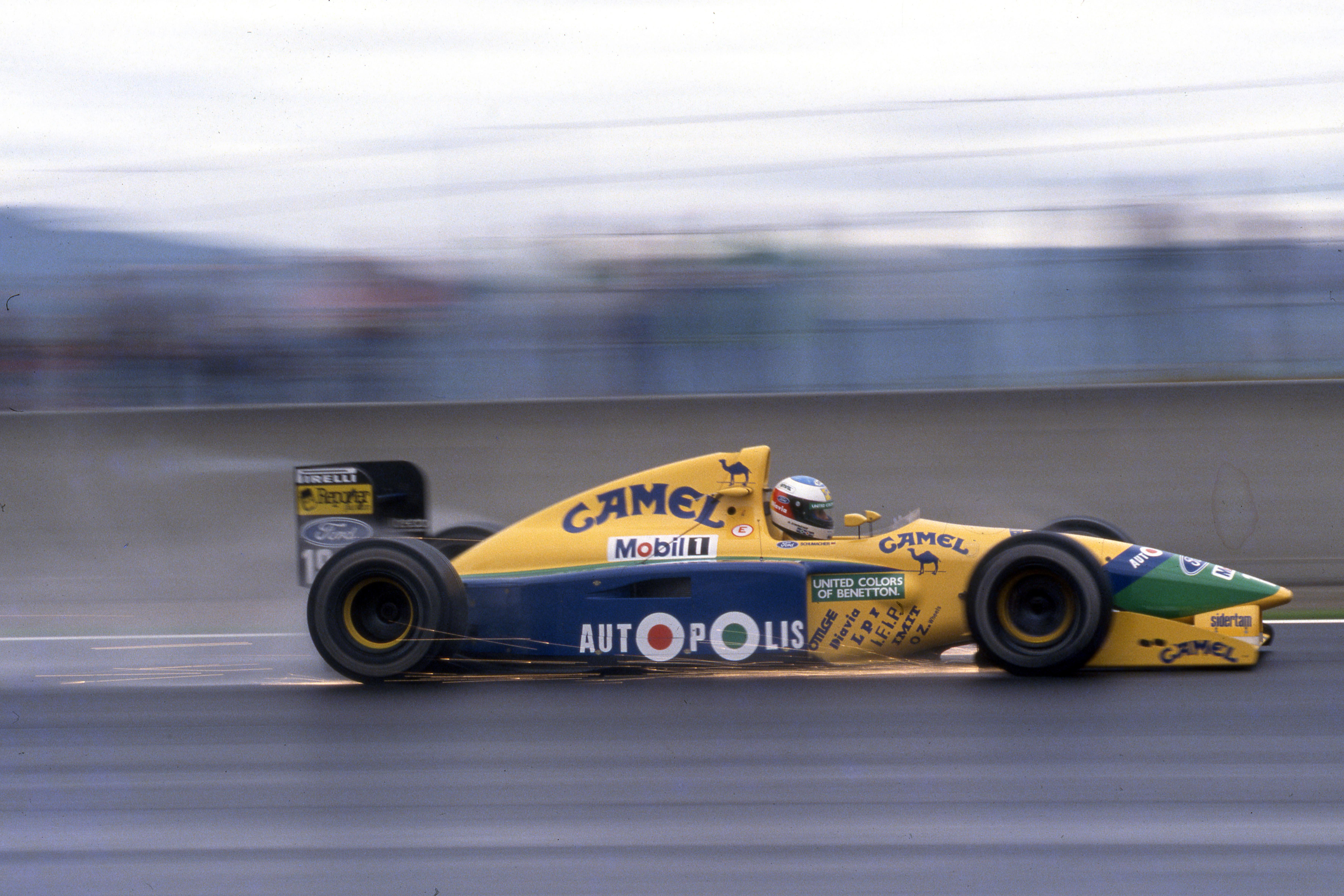 Michael Schumacher Benetton Spanish Grand Prix 1991 Barcelona