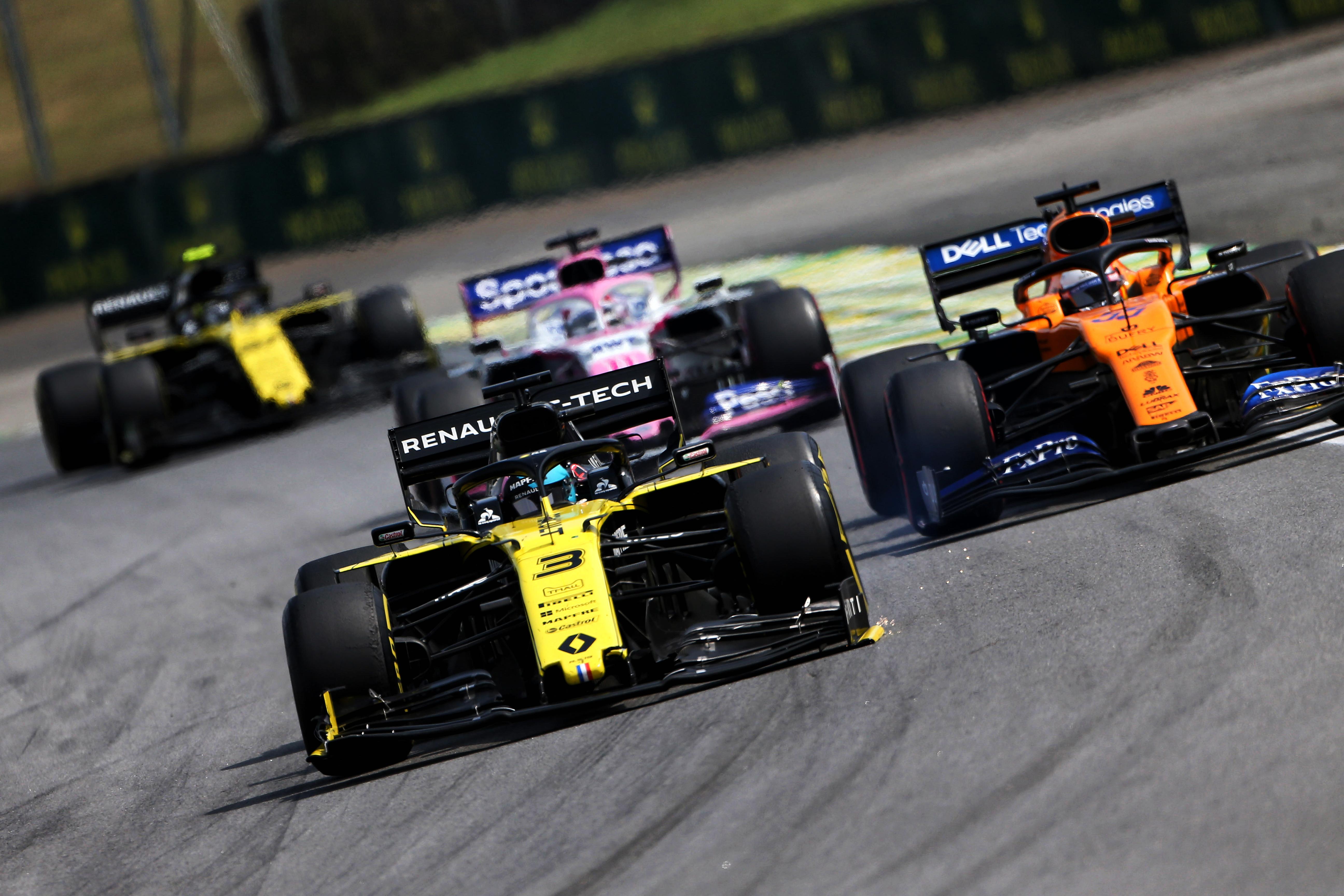 Daniel Ricciardo Renault Brazilian Grand Prix 2019 Interlagos