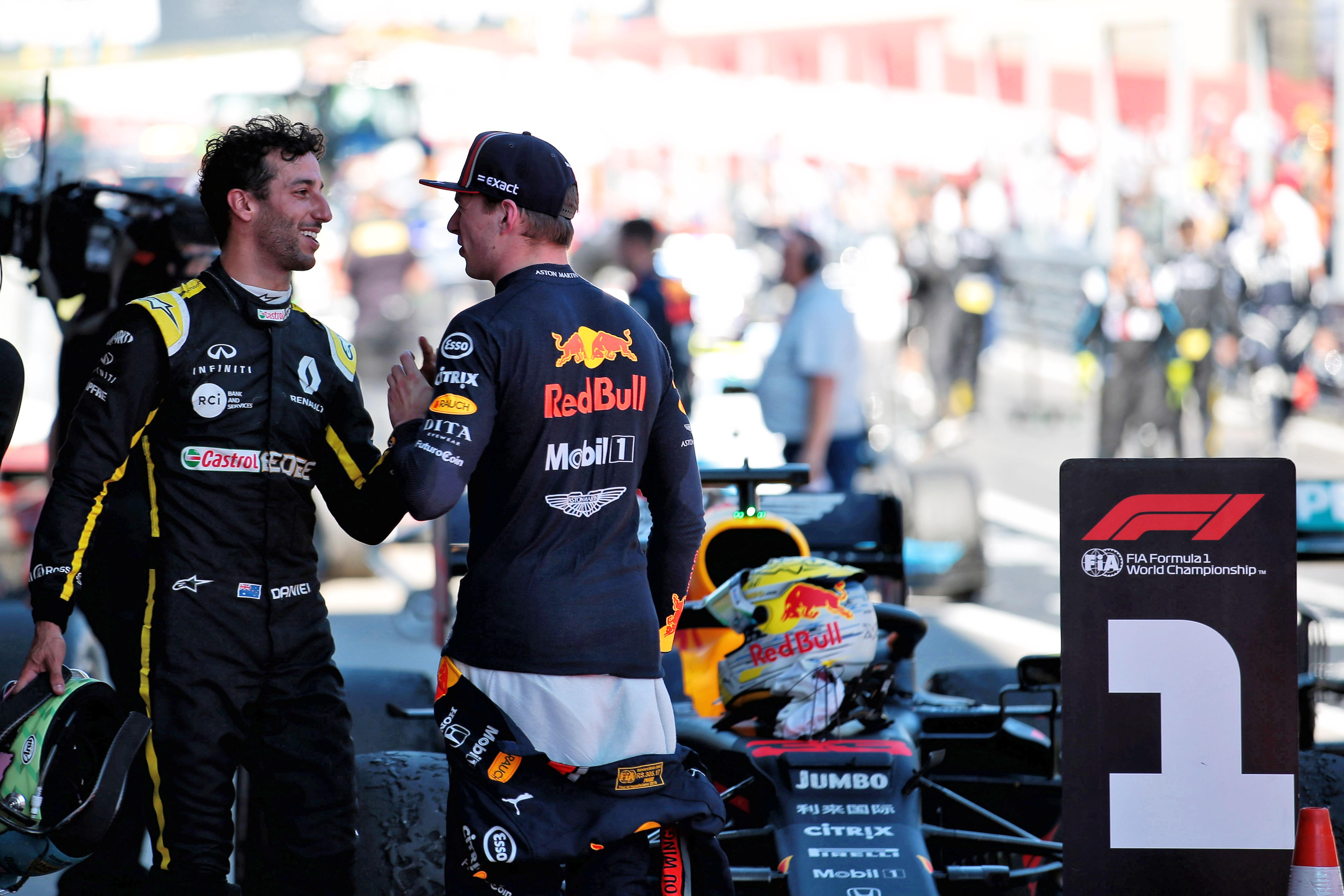 Daniel Ricciardo Max Verstappen