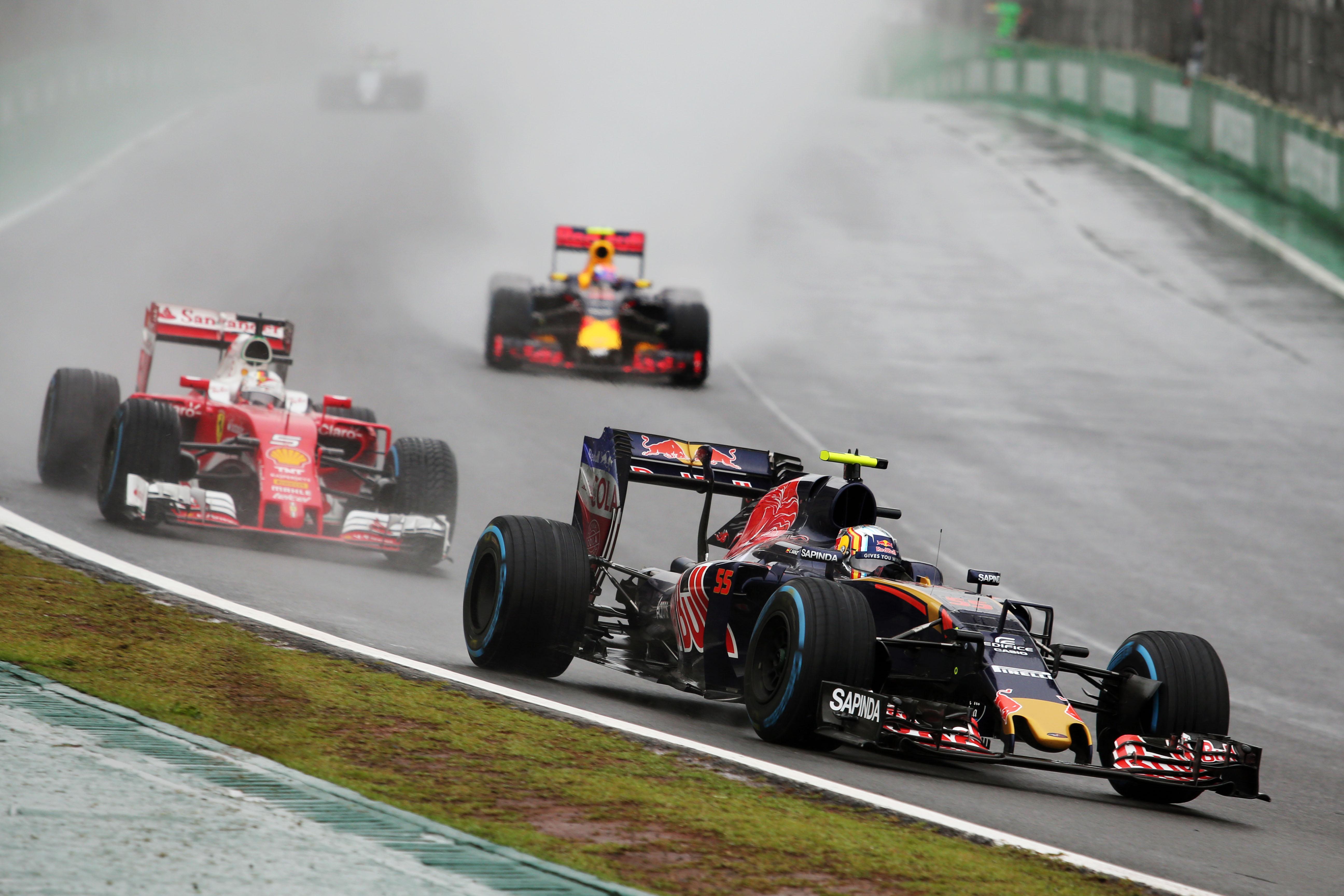 Carlos Sainz Jr Toro Rosso Brazilian Grand Prix 2016 Interlagos
