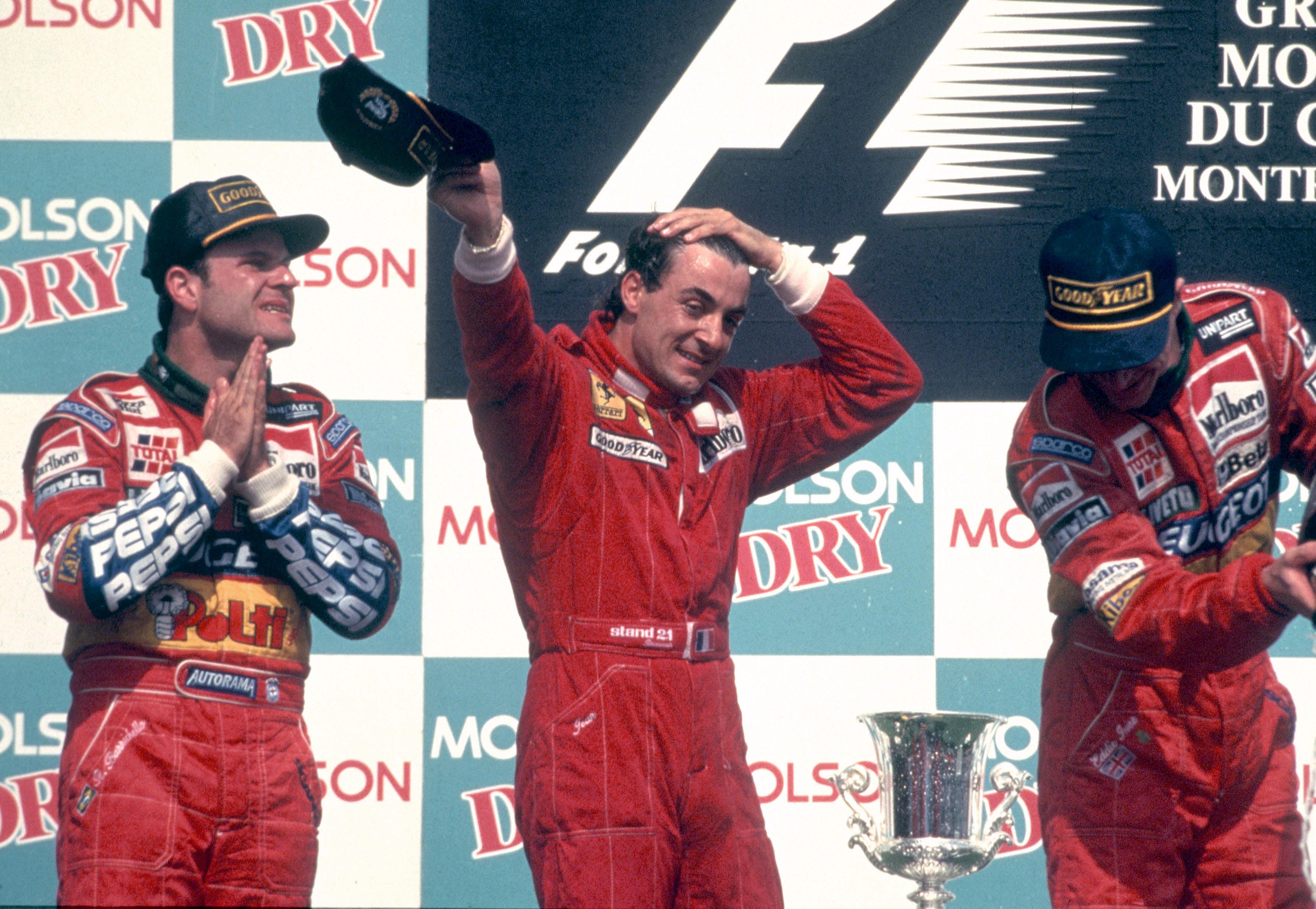 Jean Alesi wins 1995 Canadian Grand Prix Montreal