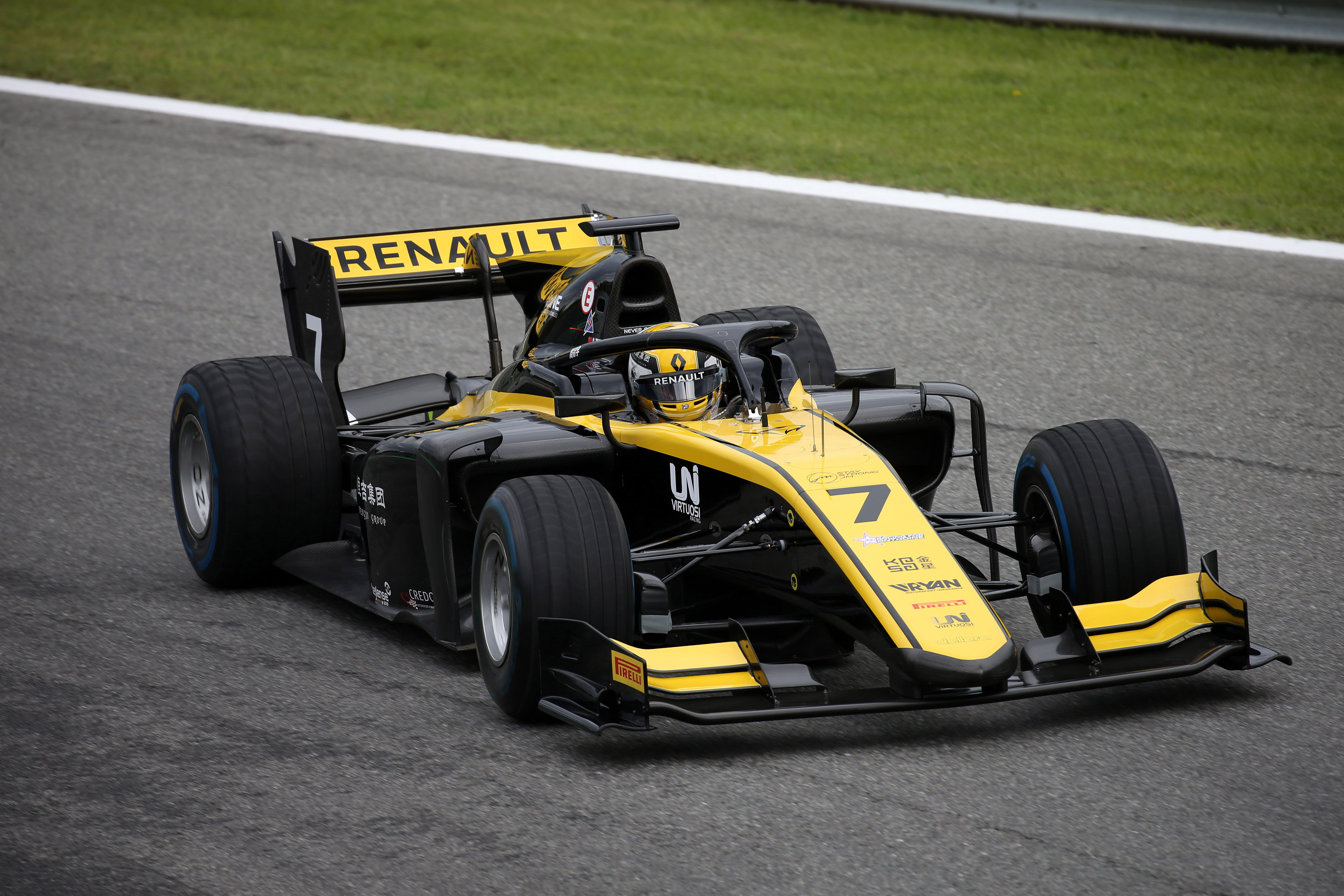 Motor Racing Fia Formula 2 Championship Friday Monza, Italy