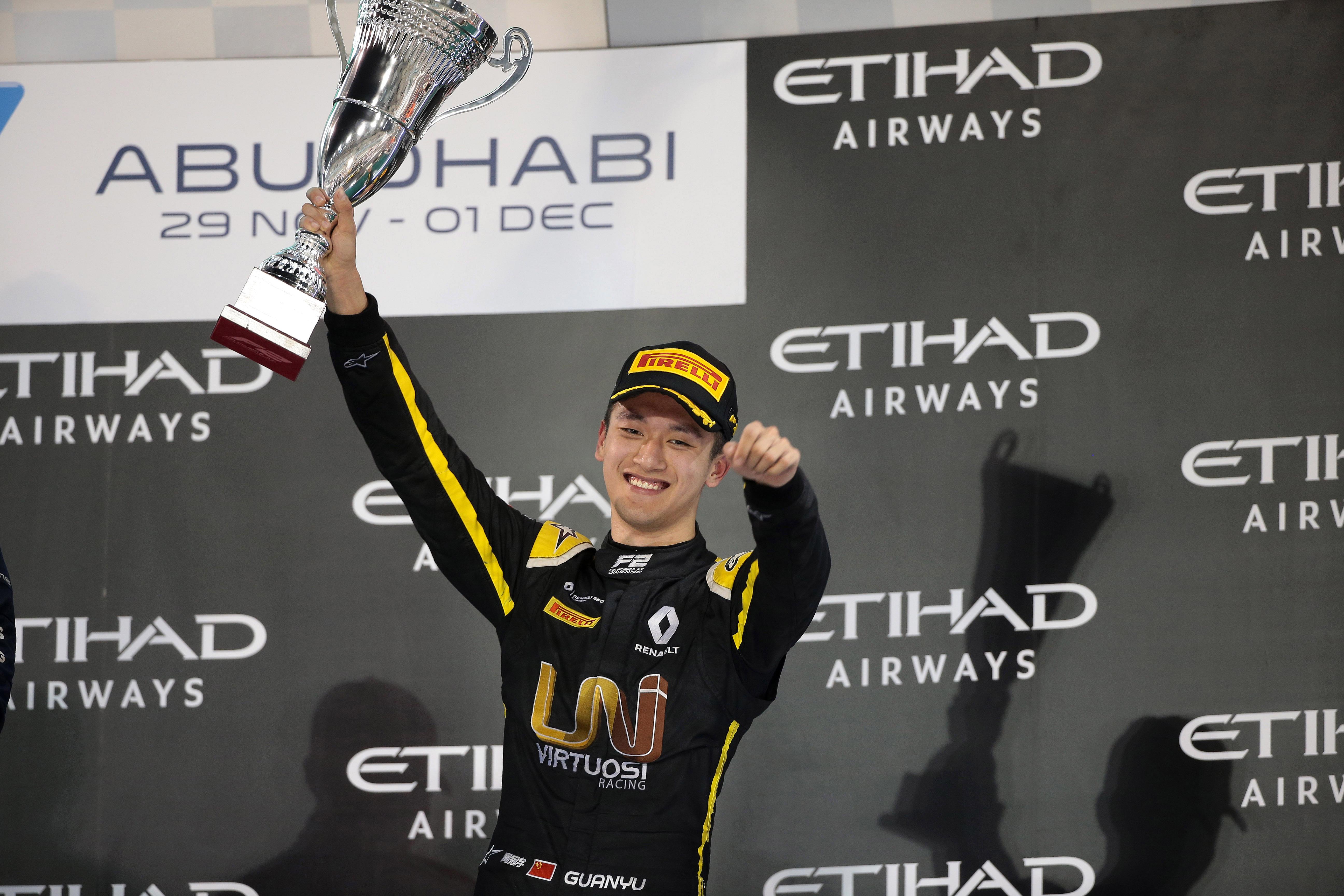 Motor Racing Fia Formula 2 Championship Saturday Yas Marina Circuit, Abu Dhabi