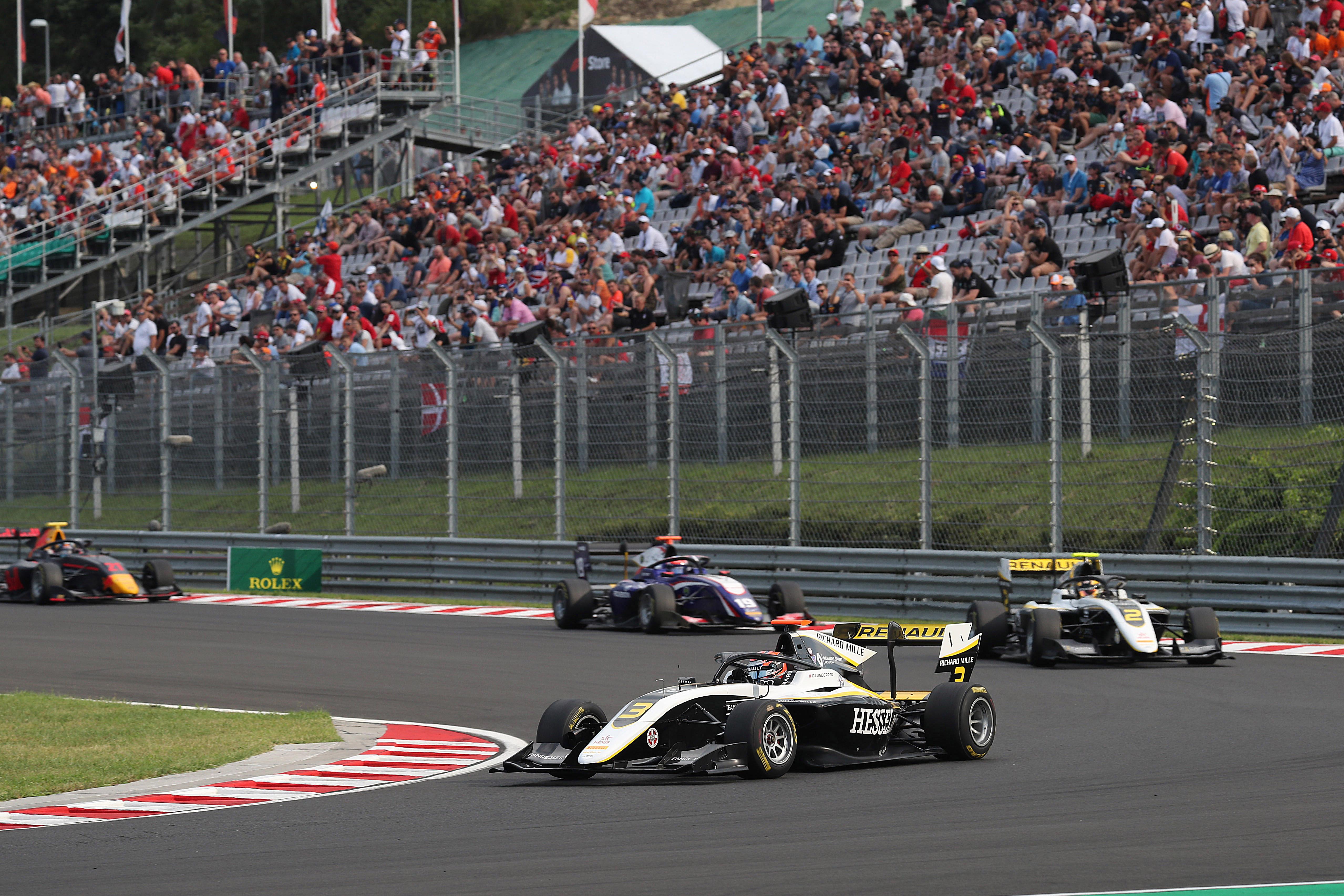 Motor Racing Fia Formula 3 Championship Saturday Budapest, Hungary