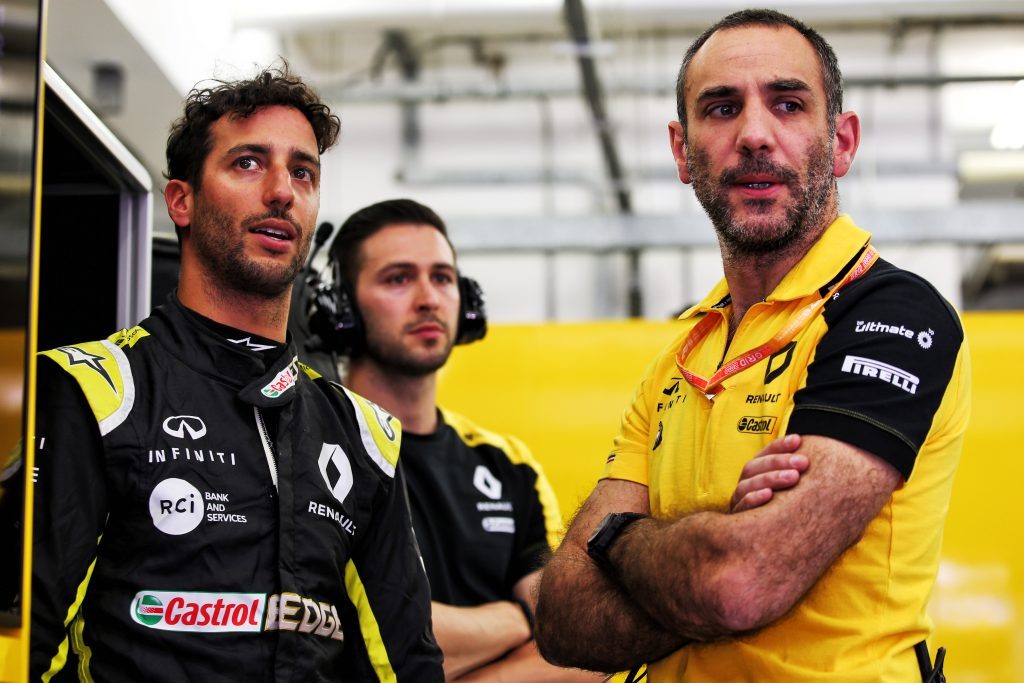 Daniel Ricciardo Cyril Abiteboul Renault F1