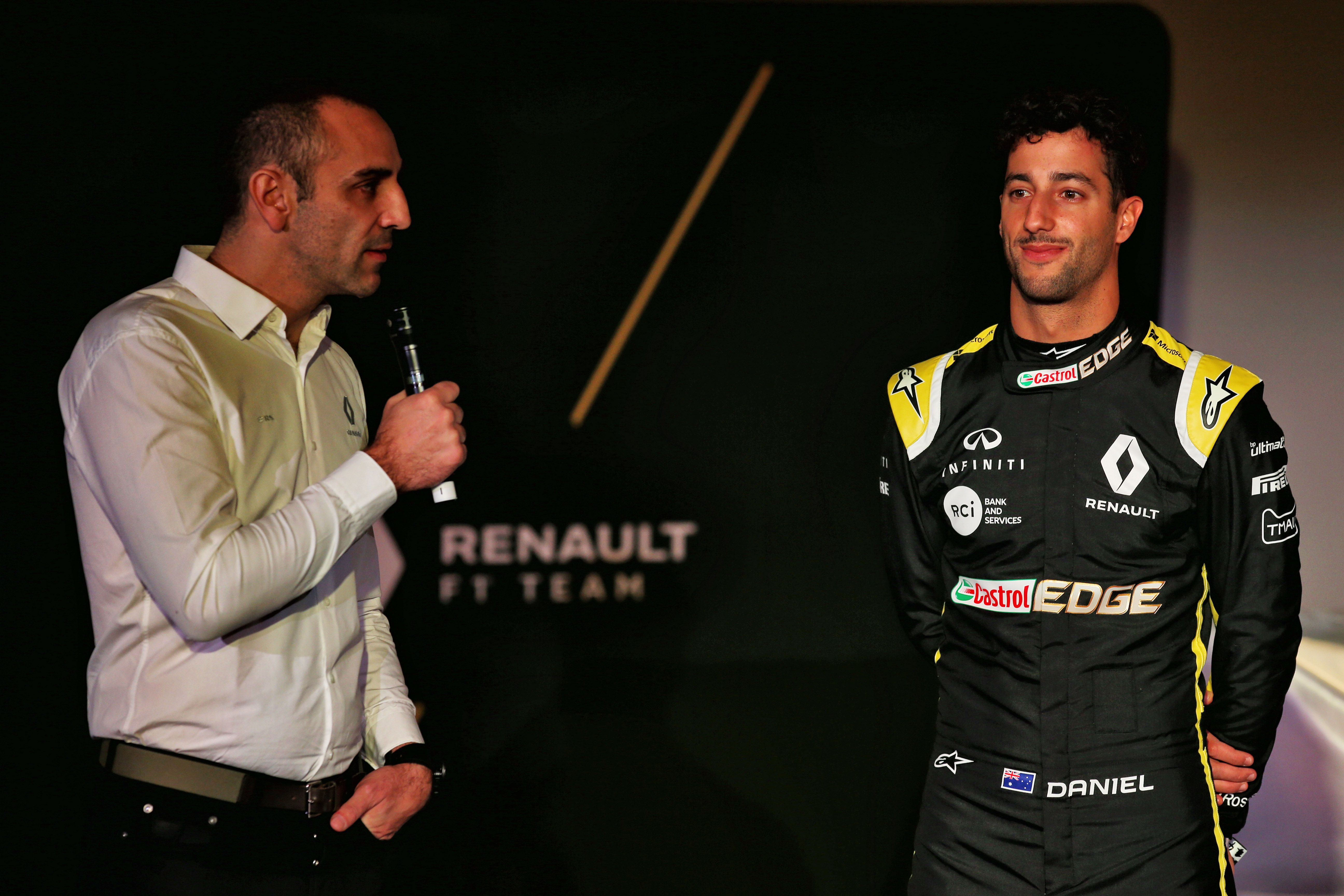 Motor Racing Formula One Renault Sport F1 Team Rs19 Launch Enstone, England