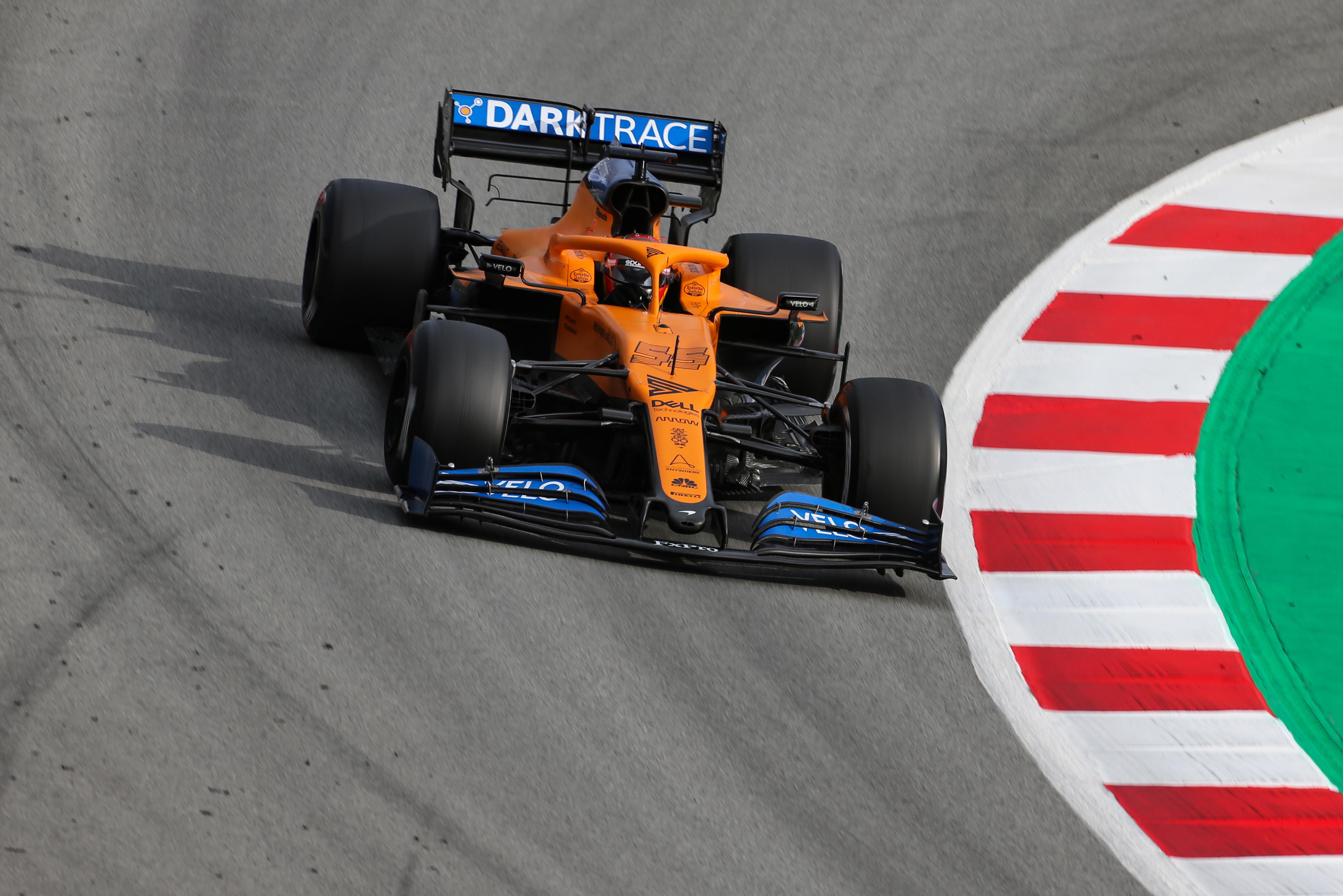 Carlos Sainz F1 McLaren 2020