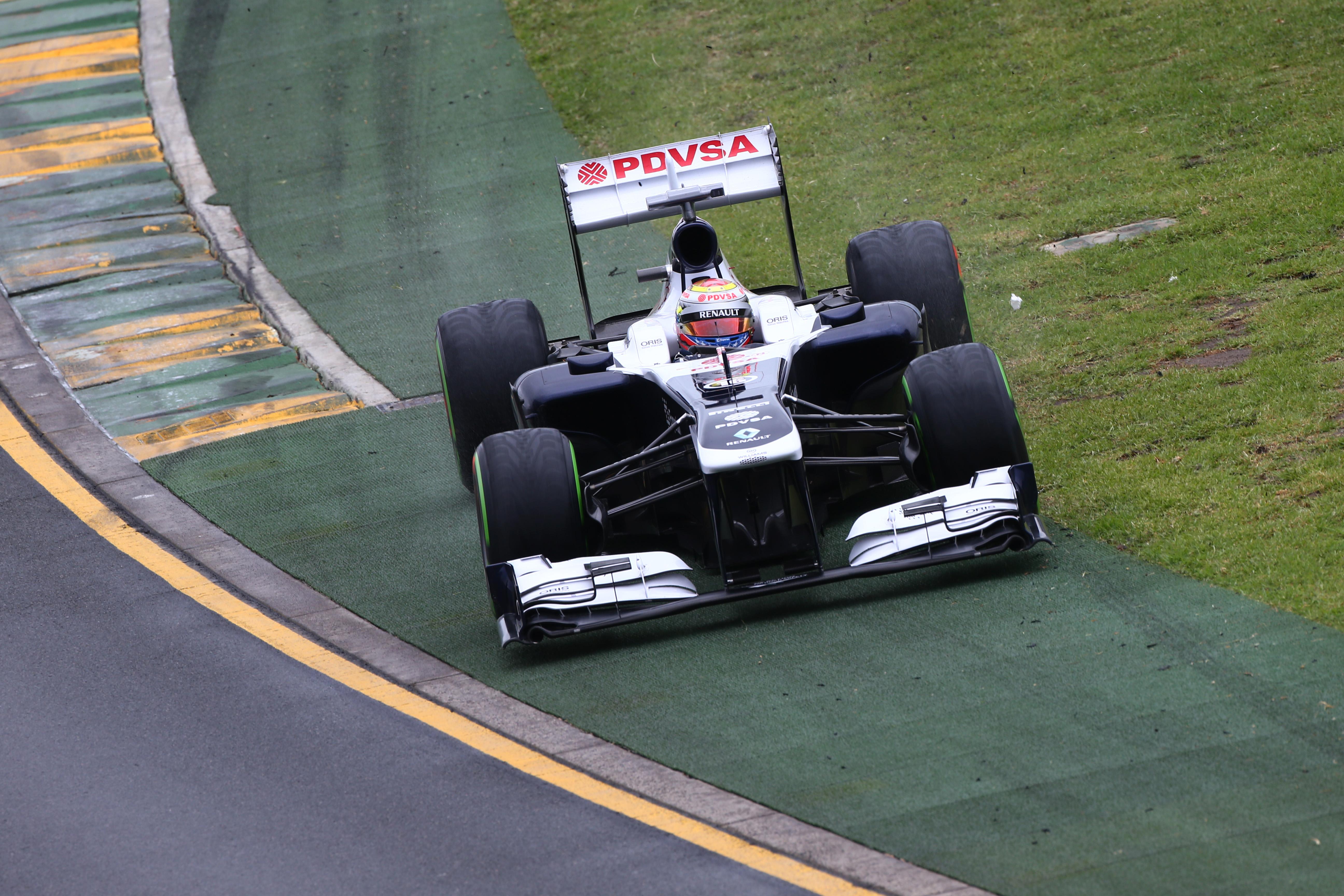 Pastor Maldonado Williams Australian Grand Prix 2013 Melbourne