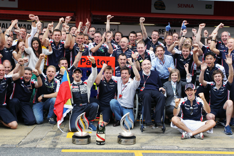 Pastor Maldonado wins Spanish Grand Prix 2012