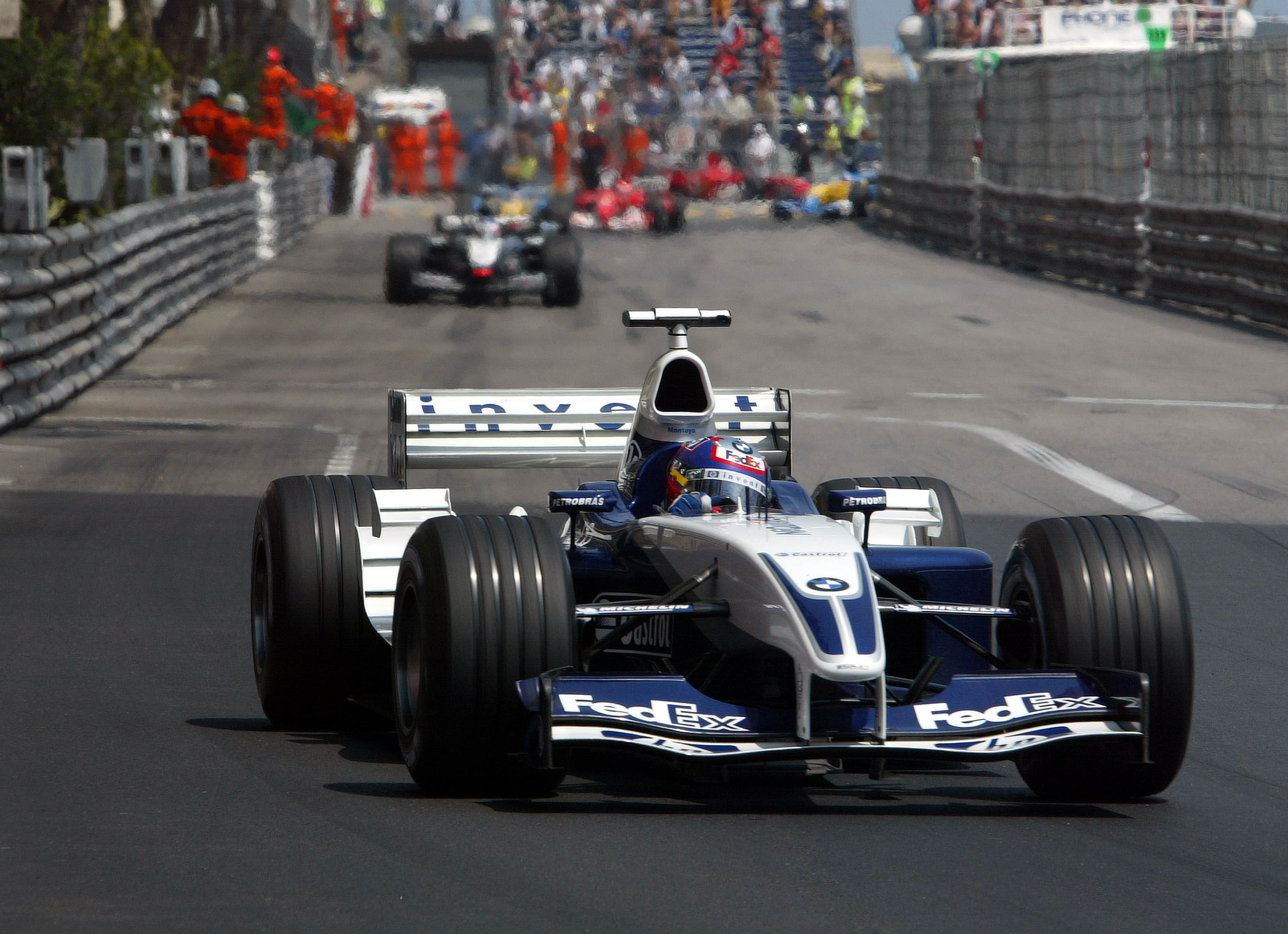 Juan Pablo Montoya Williams Monaco Grand Prix 2003
