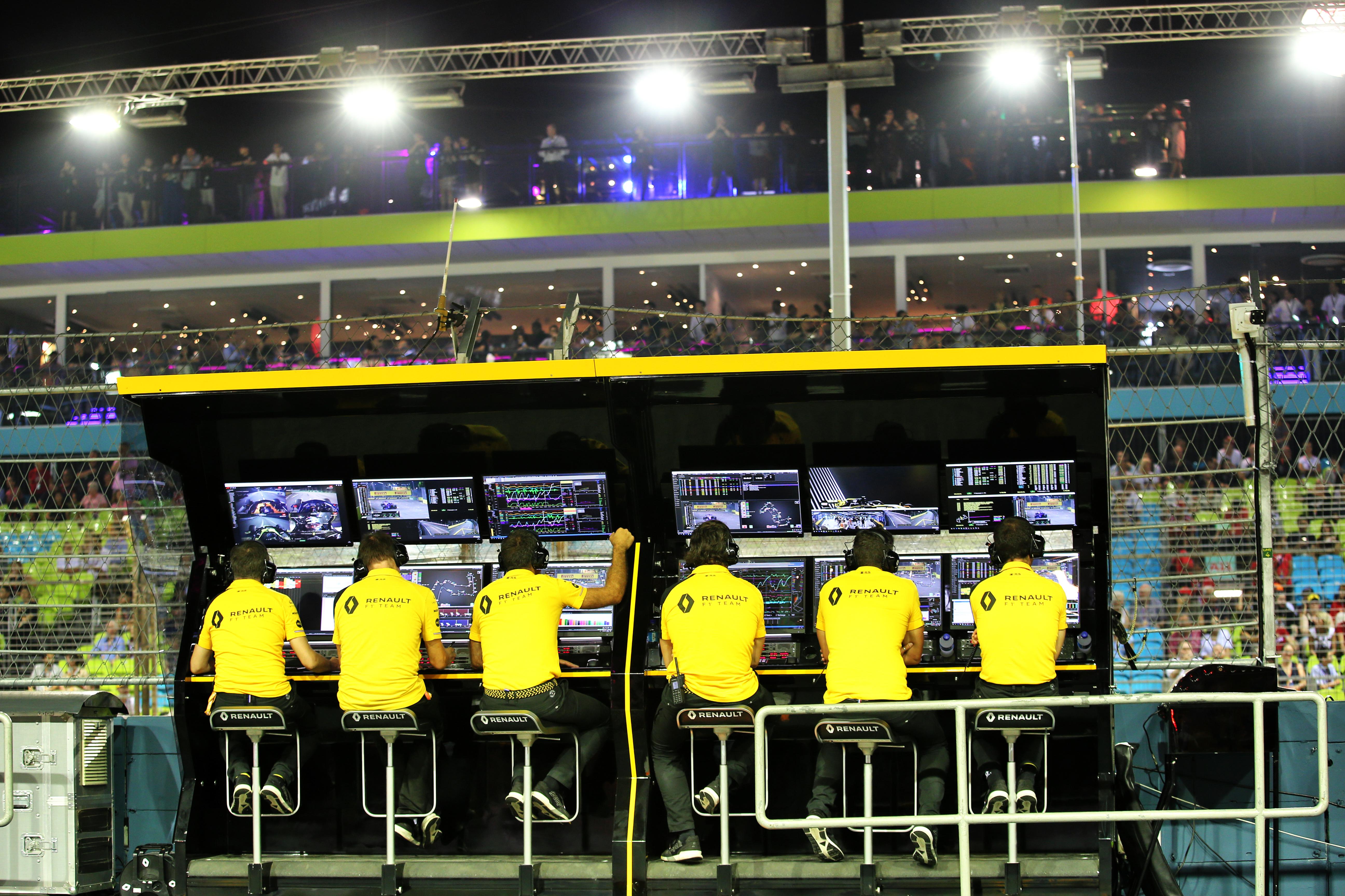 Motor Racing Formula One World Championship Singapore Grand Prix Practice Day Singapore, Singapore