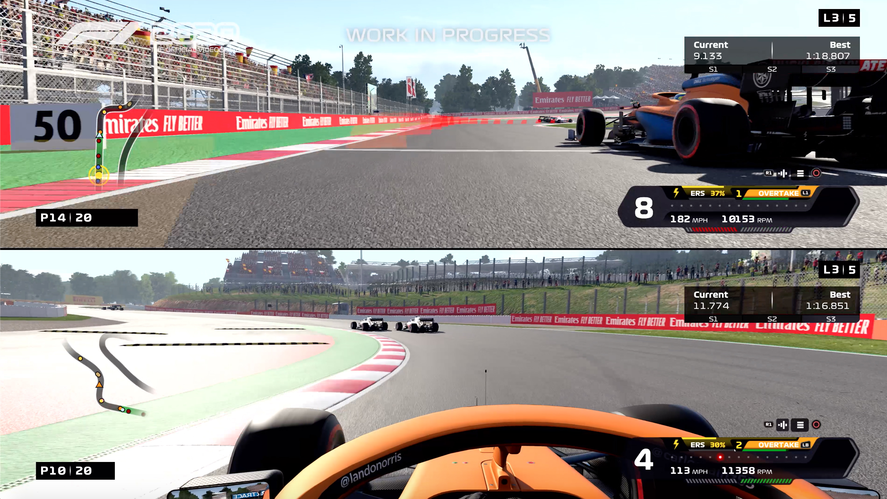 F1 2020 game preview image Codemasters Split Screen