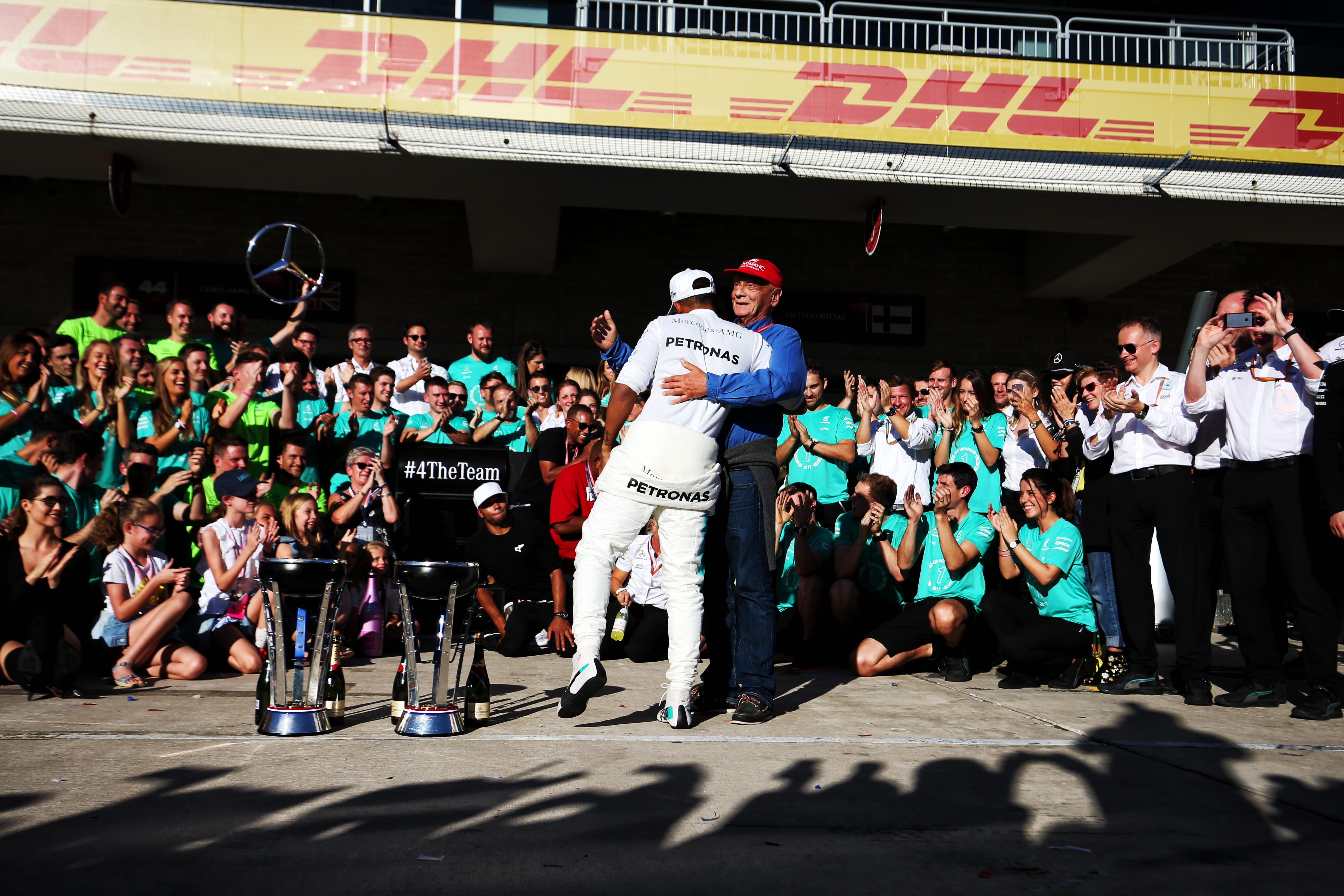 Lauda Mercedes F1 2017