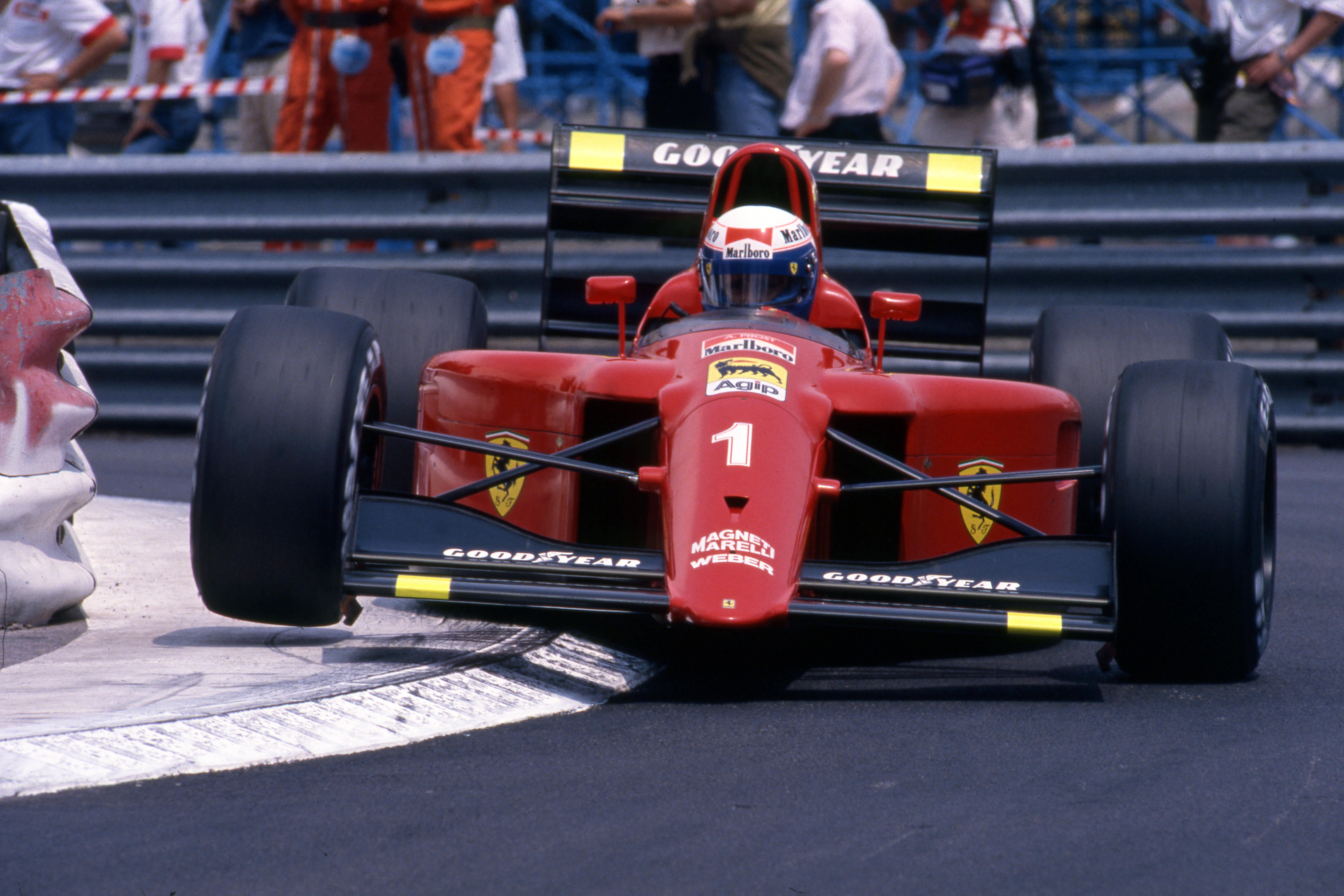Alain Prost Ferrari Monaco Grand Prix 1990