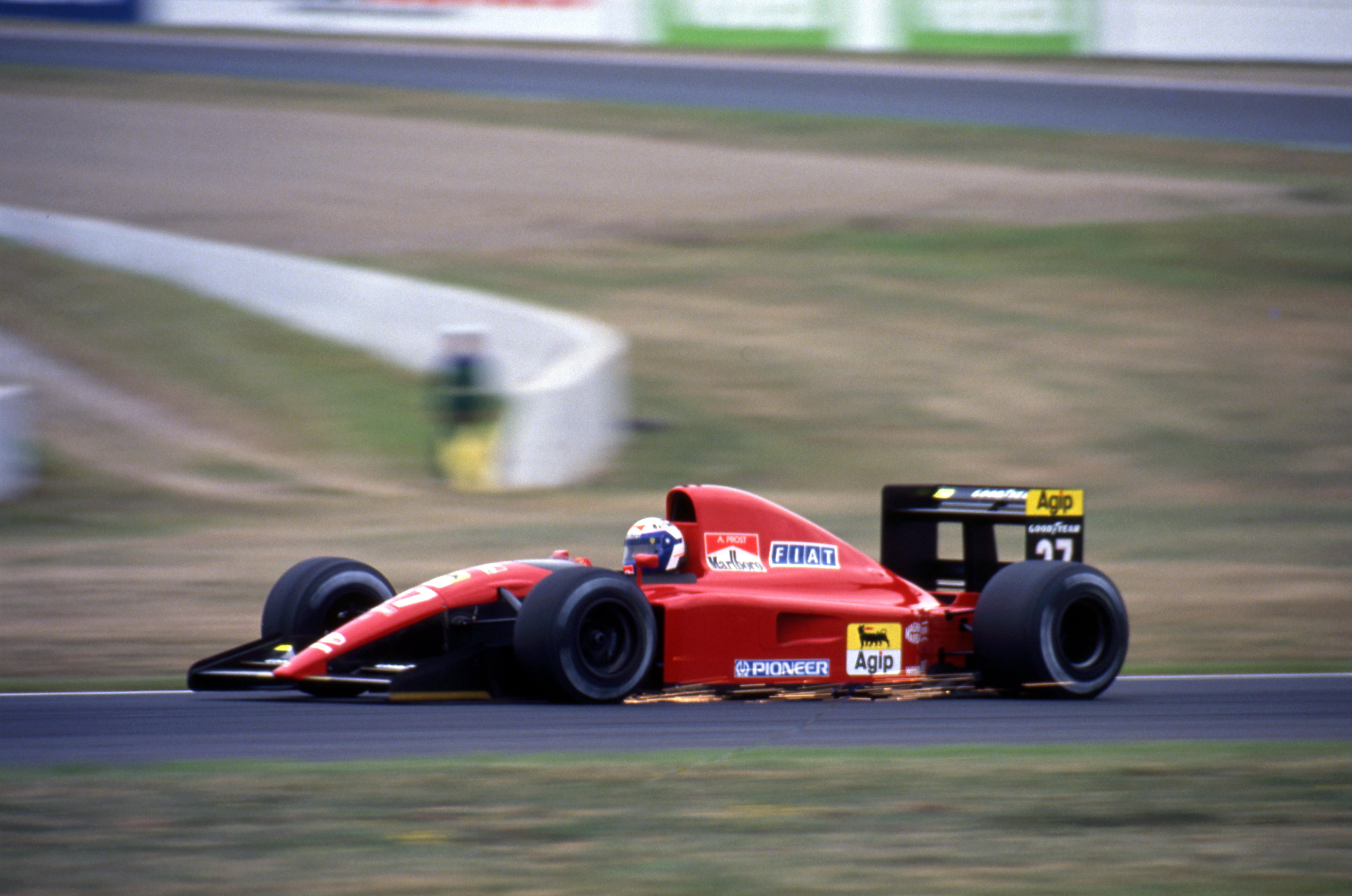 Alain Prost Ferrari French Grand Prix 1991 Magny-Cours