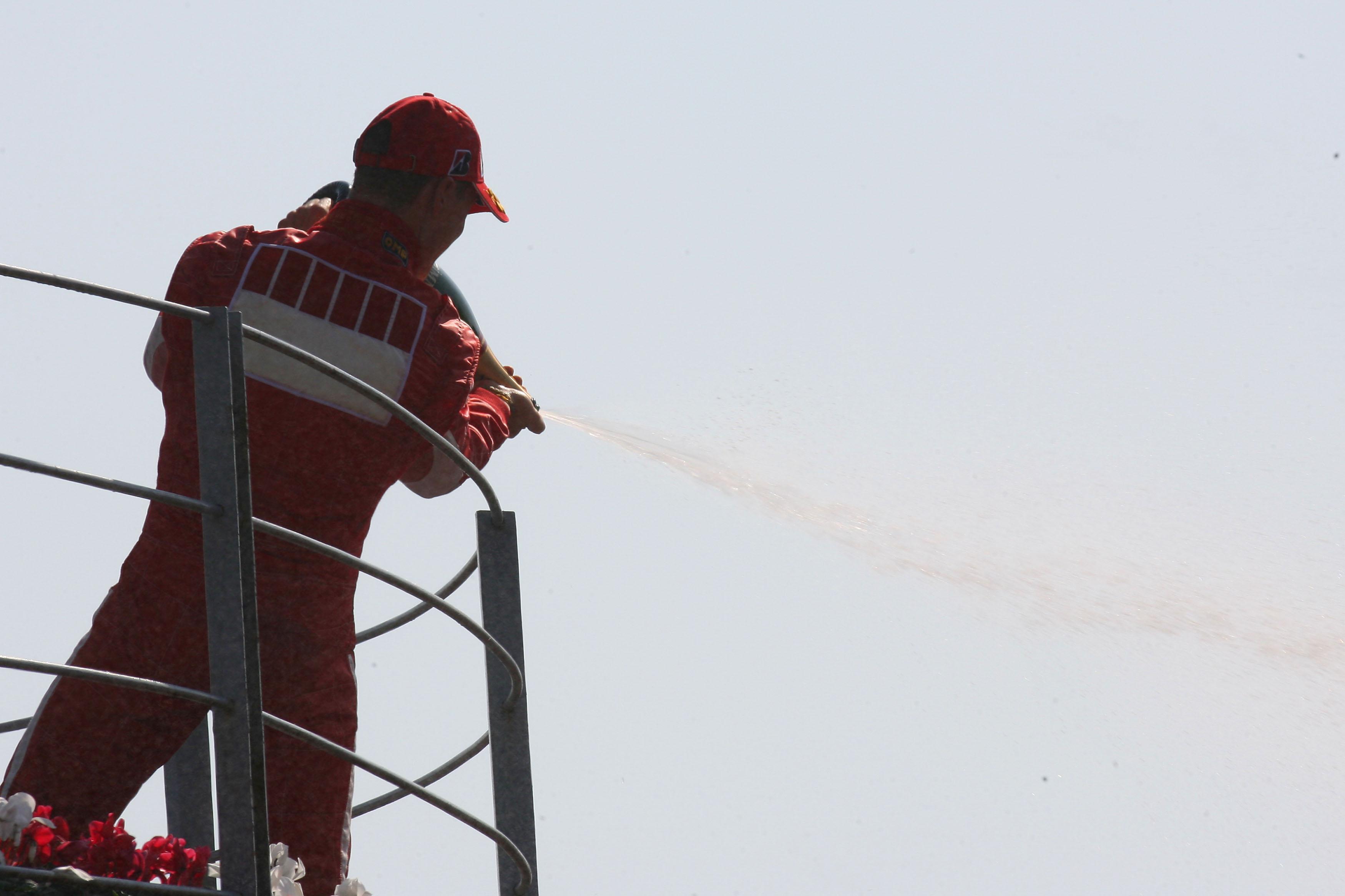 Michael Schumacher wins Italian Grand Prix 2006