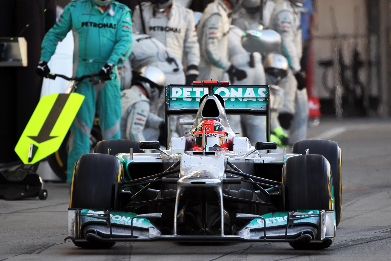 Michael Schumacher Mercedes Japanese Grand Prix 2012 Suzuka