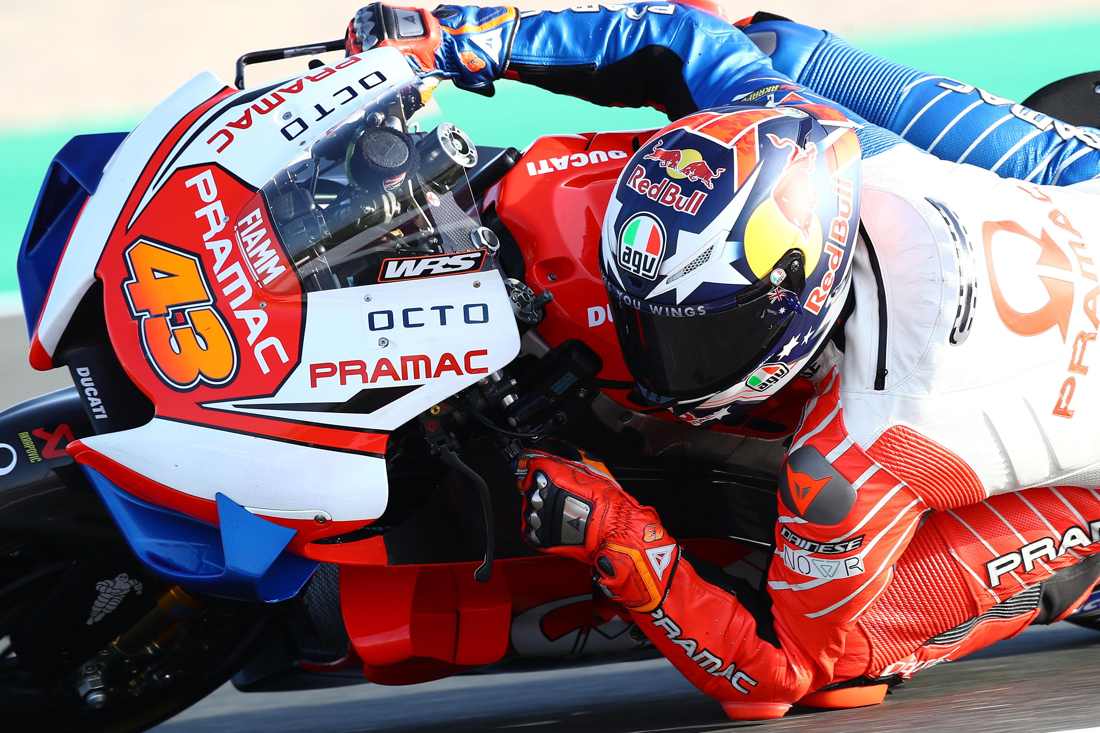 Jack Miller Pramac Ducati Qatar MotoGP test 2020