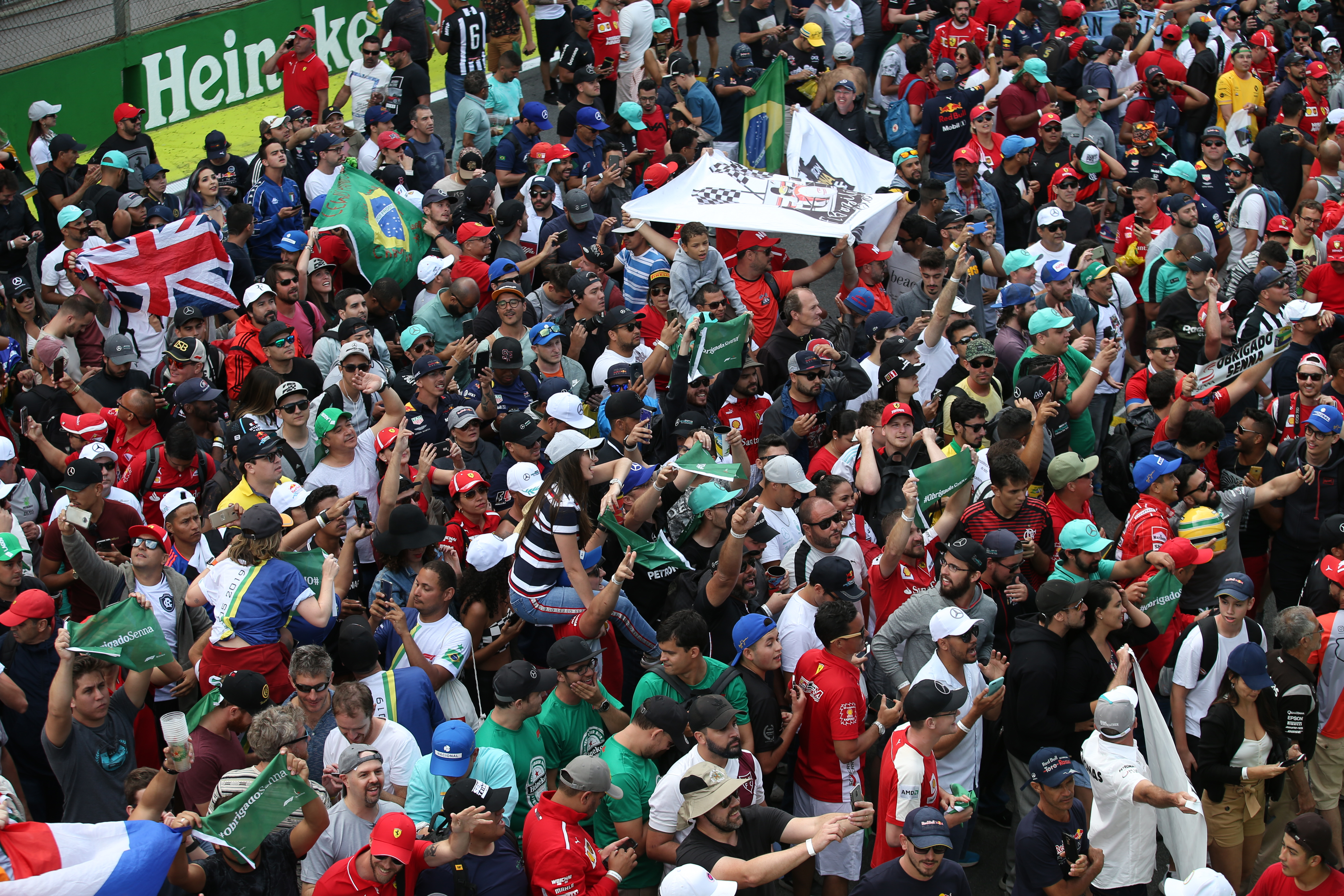 Fans de la F1 Brasil 2020