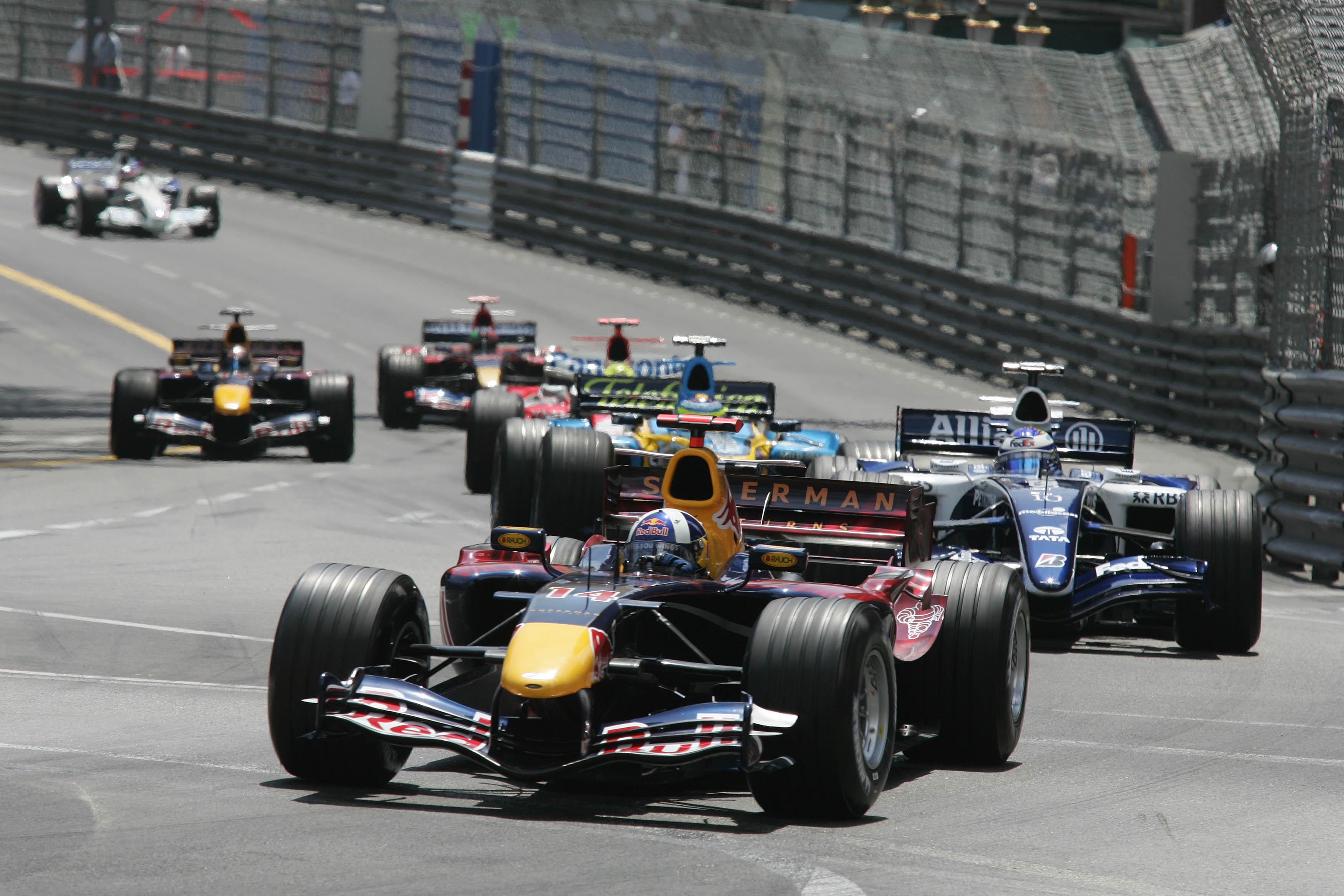 David Coulthard Red Bull Monaco Grand Prix 2006
