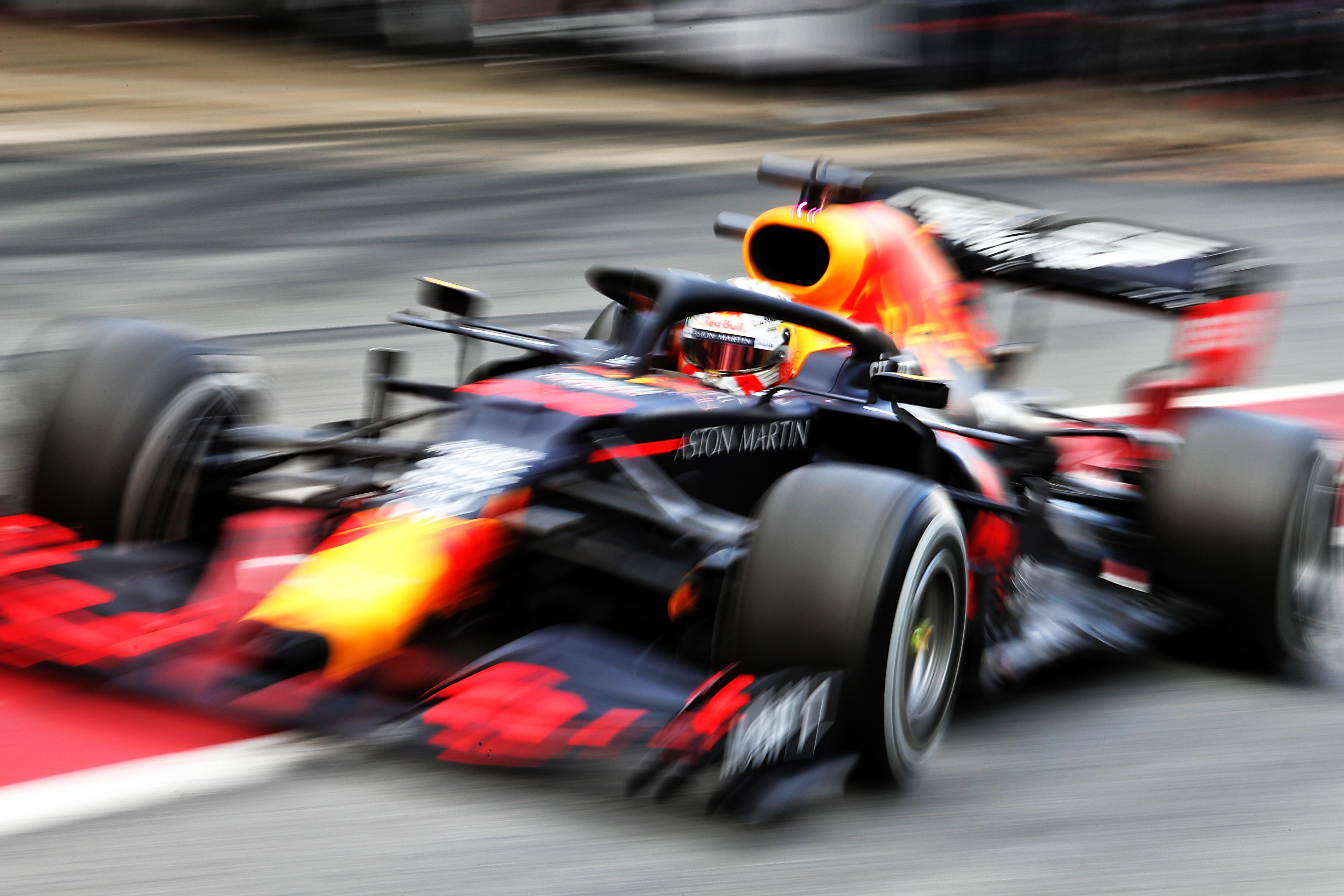 Max Verstappen Red Bull Barcelona F1 testing 2020