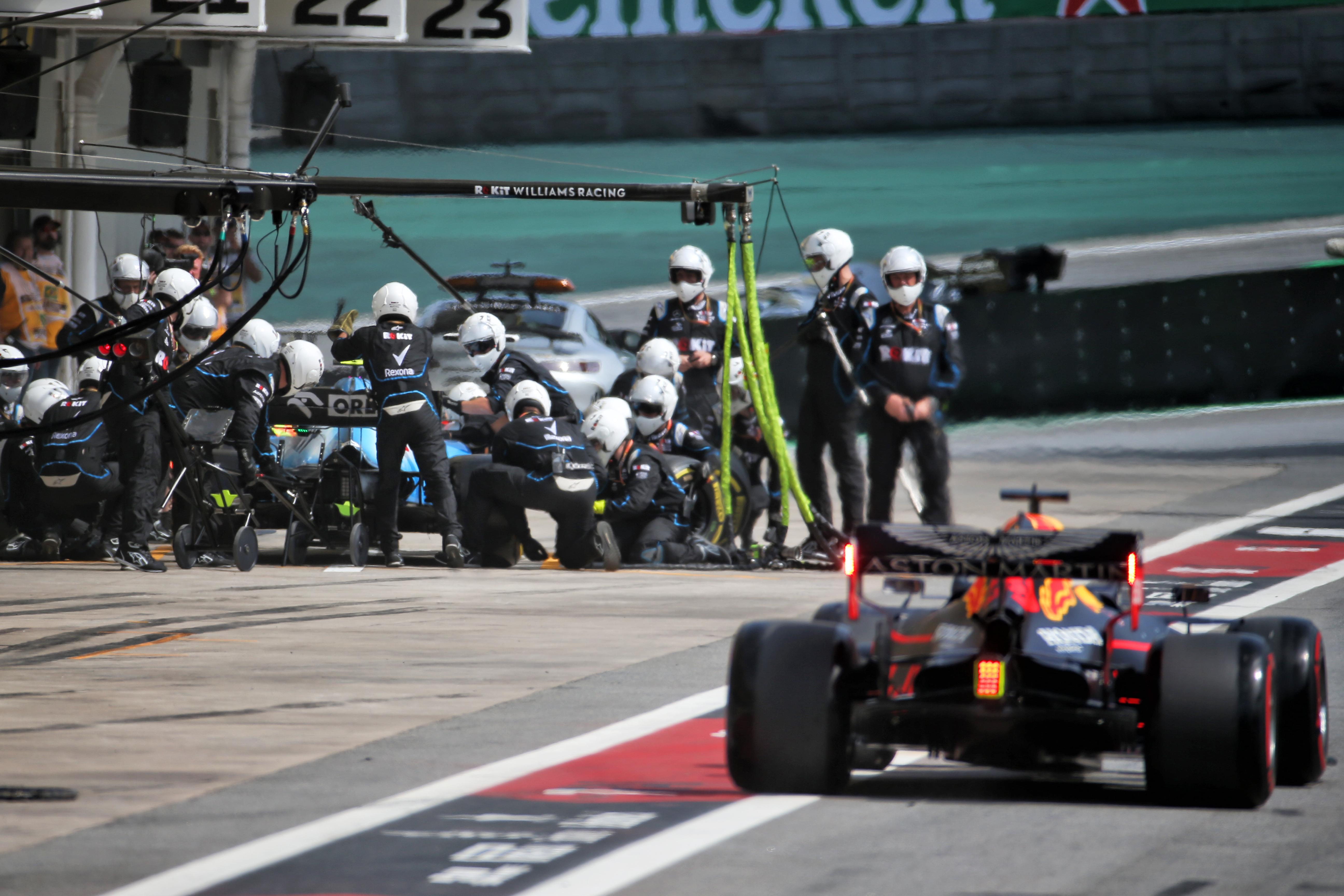 Williams Red Bull Brazilian Grand Prix 2019 Interlagos