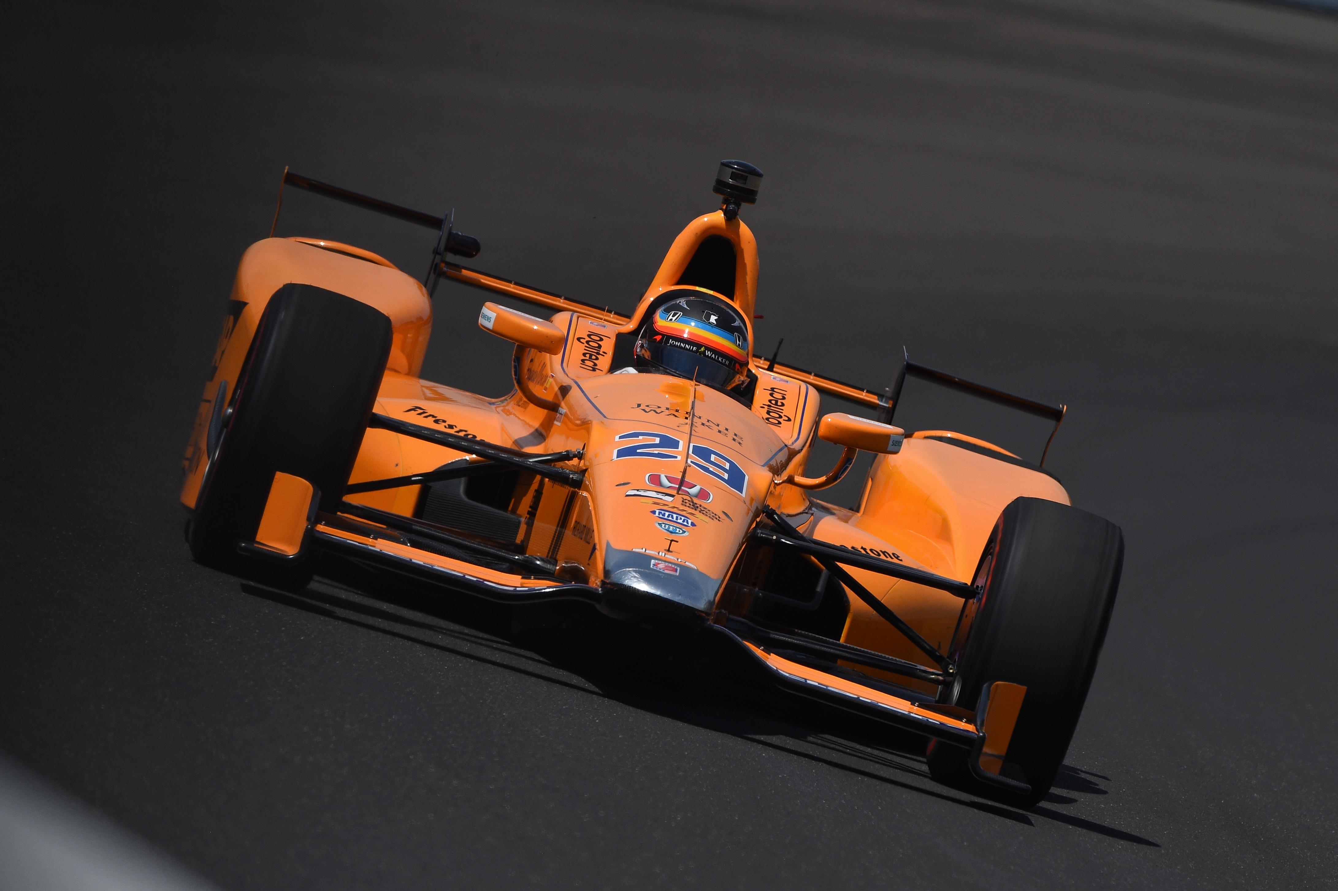 Fernando Alonso McLaren Andretti Indy 500 2017