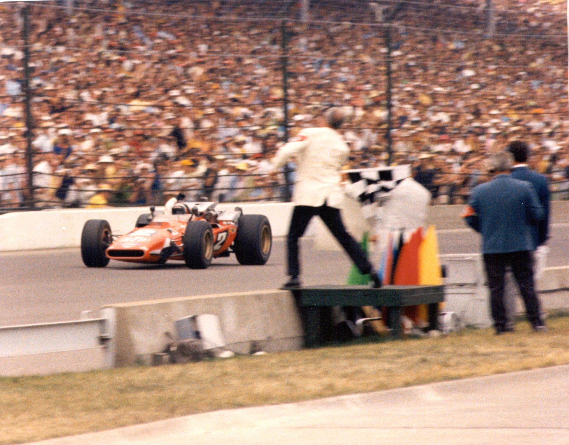 Mario Andretti Indy 500 1969