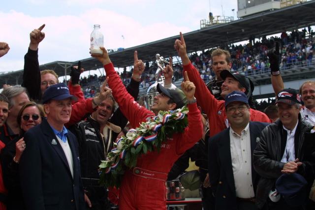 Helio Castroneves Indy 500 2001