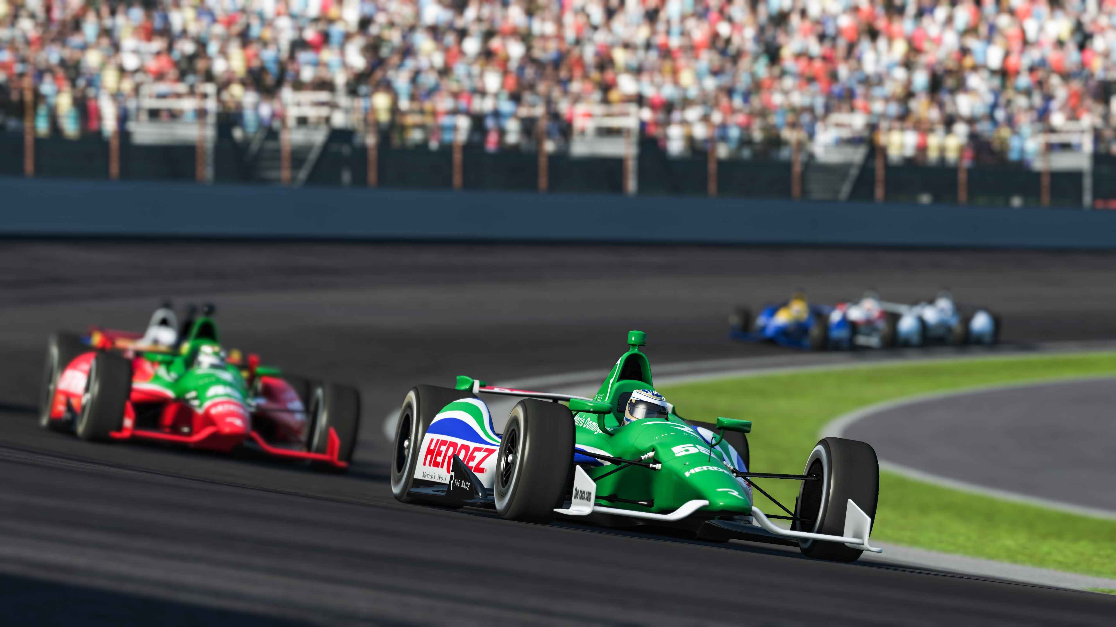 Mario Dominguez The Race Legends Trophy