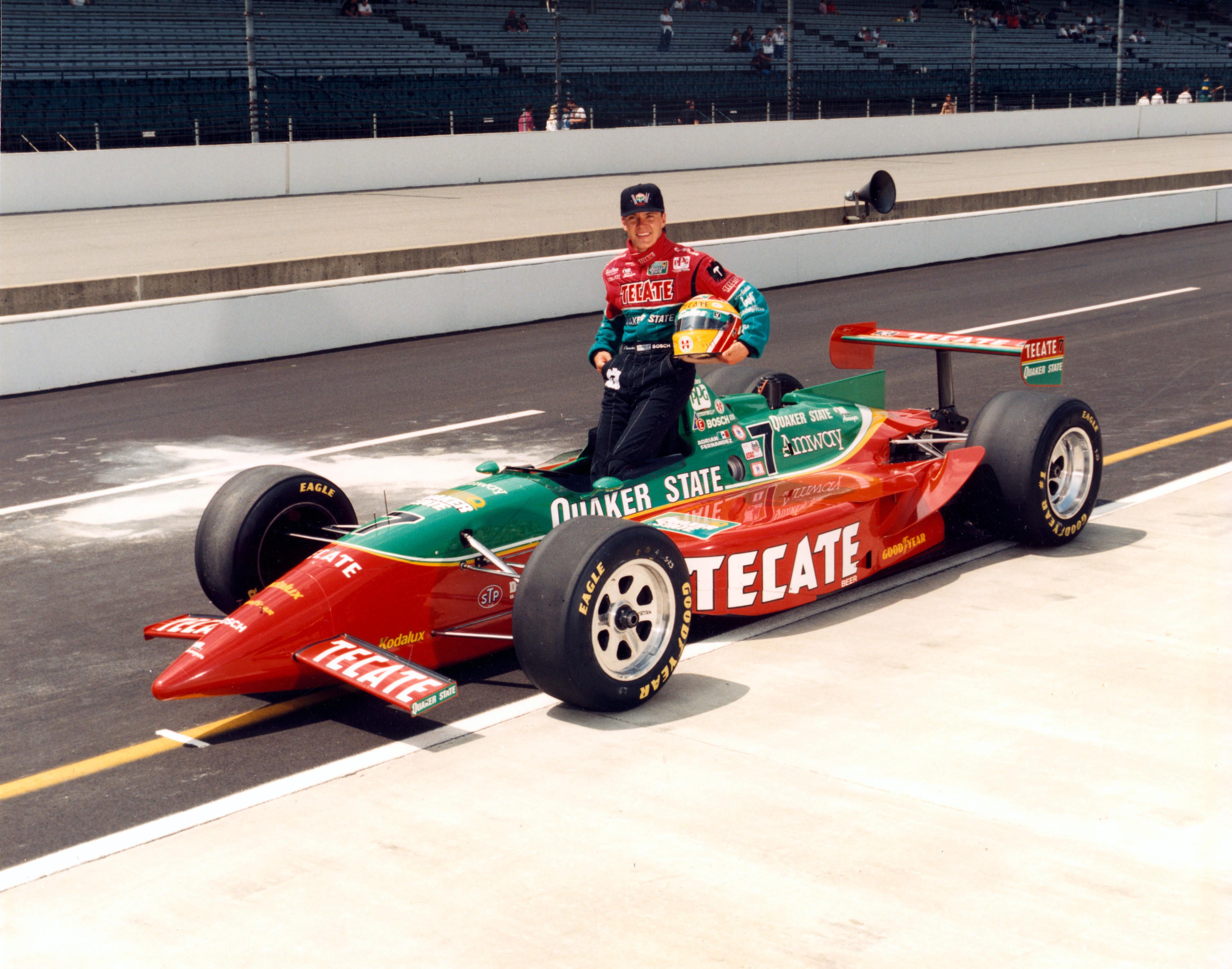 Adrian Fernandez Indy 500 1994