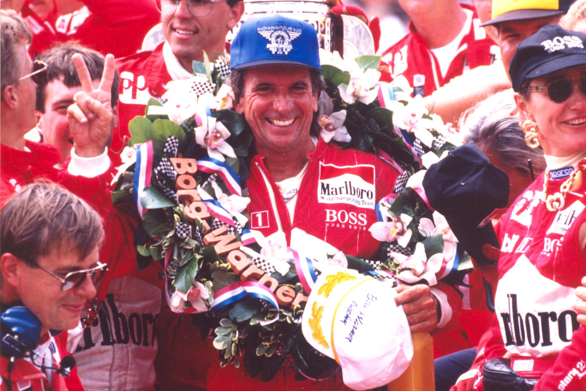 Emerson Fittipaldi Indy 500 1993