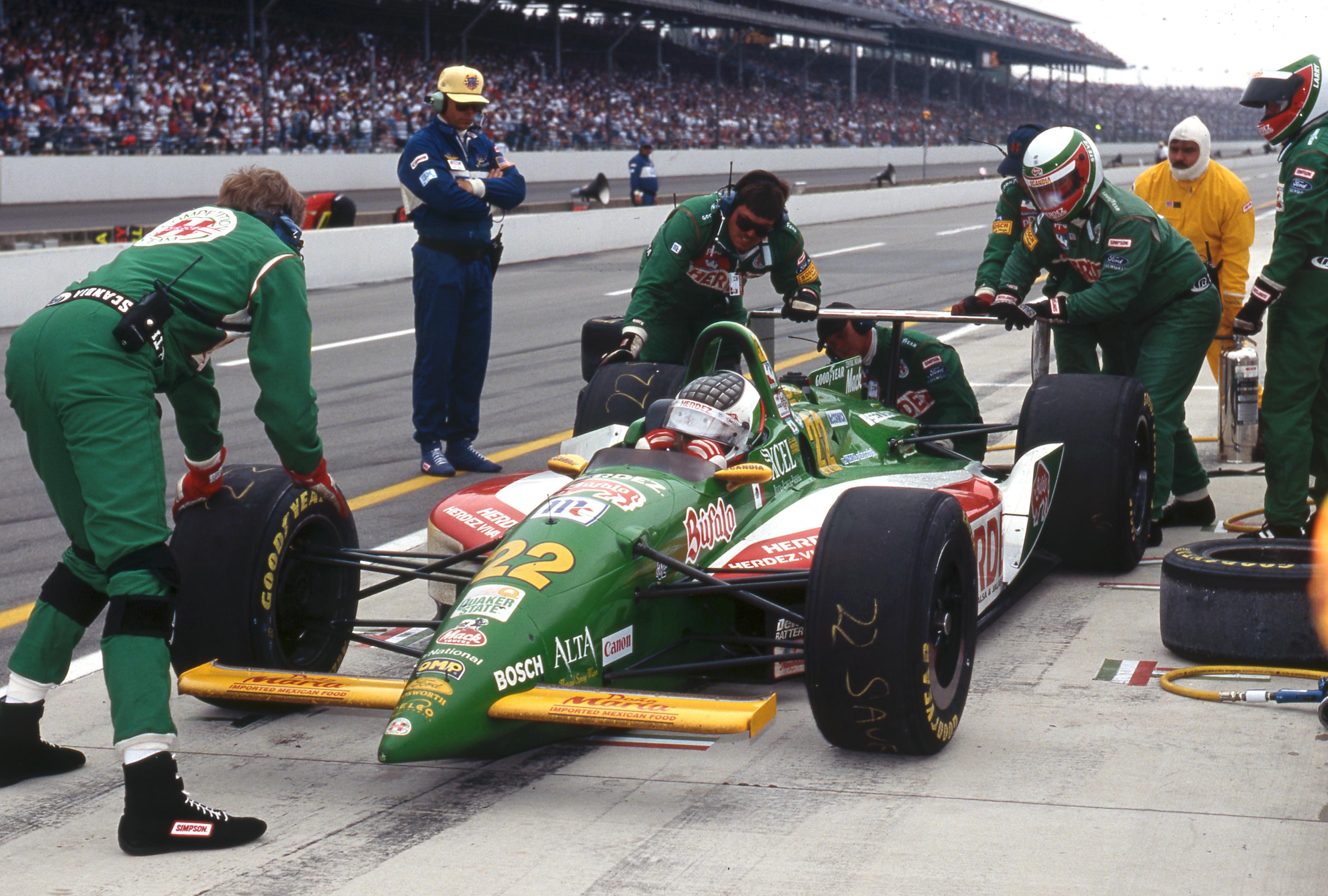 1996 Car22 Michel Jourdain Pitstop