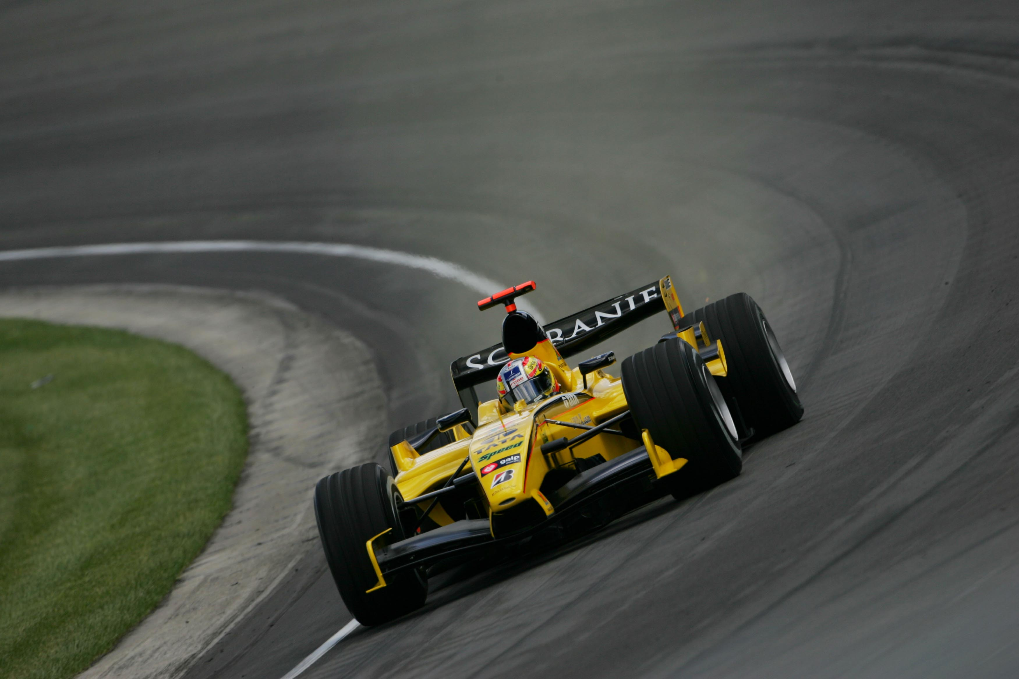Tiago Monteiro Jordan US GP 2005 Indianapolis