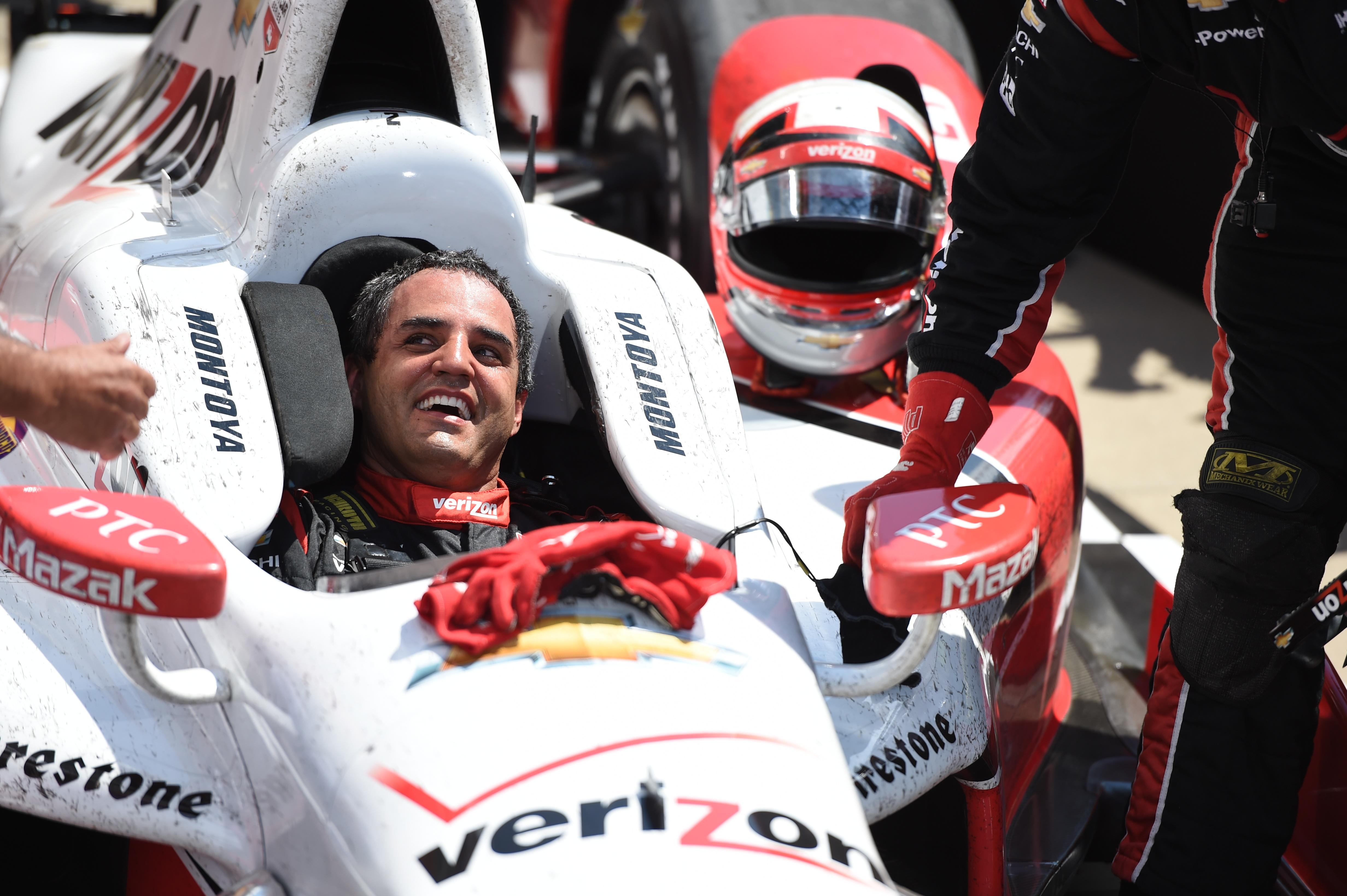 Juan Pablo Montoya Penske Indy 500 2015