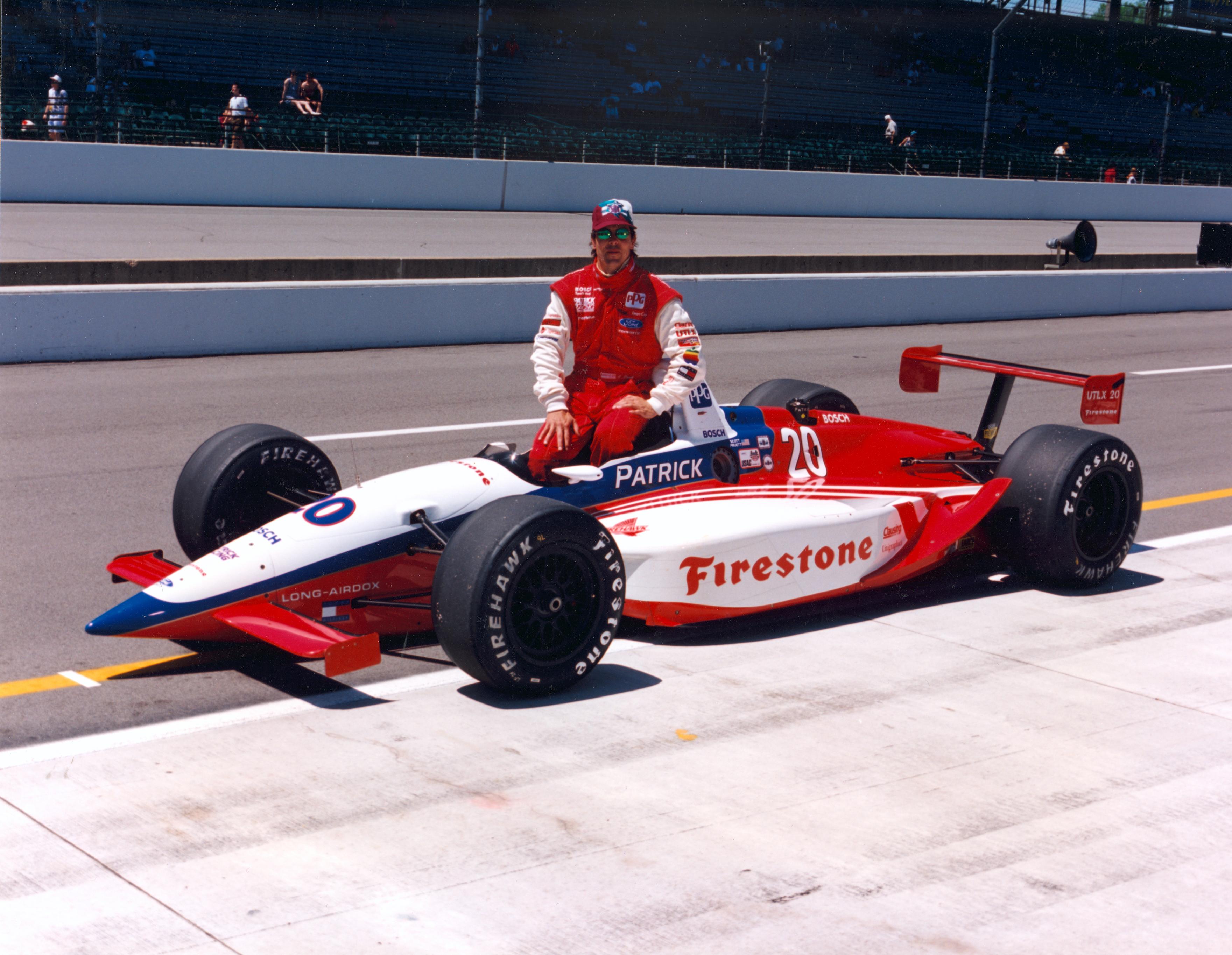 Scott Pruett Indy 500 1995