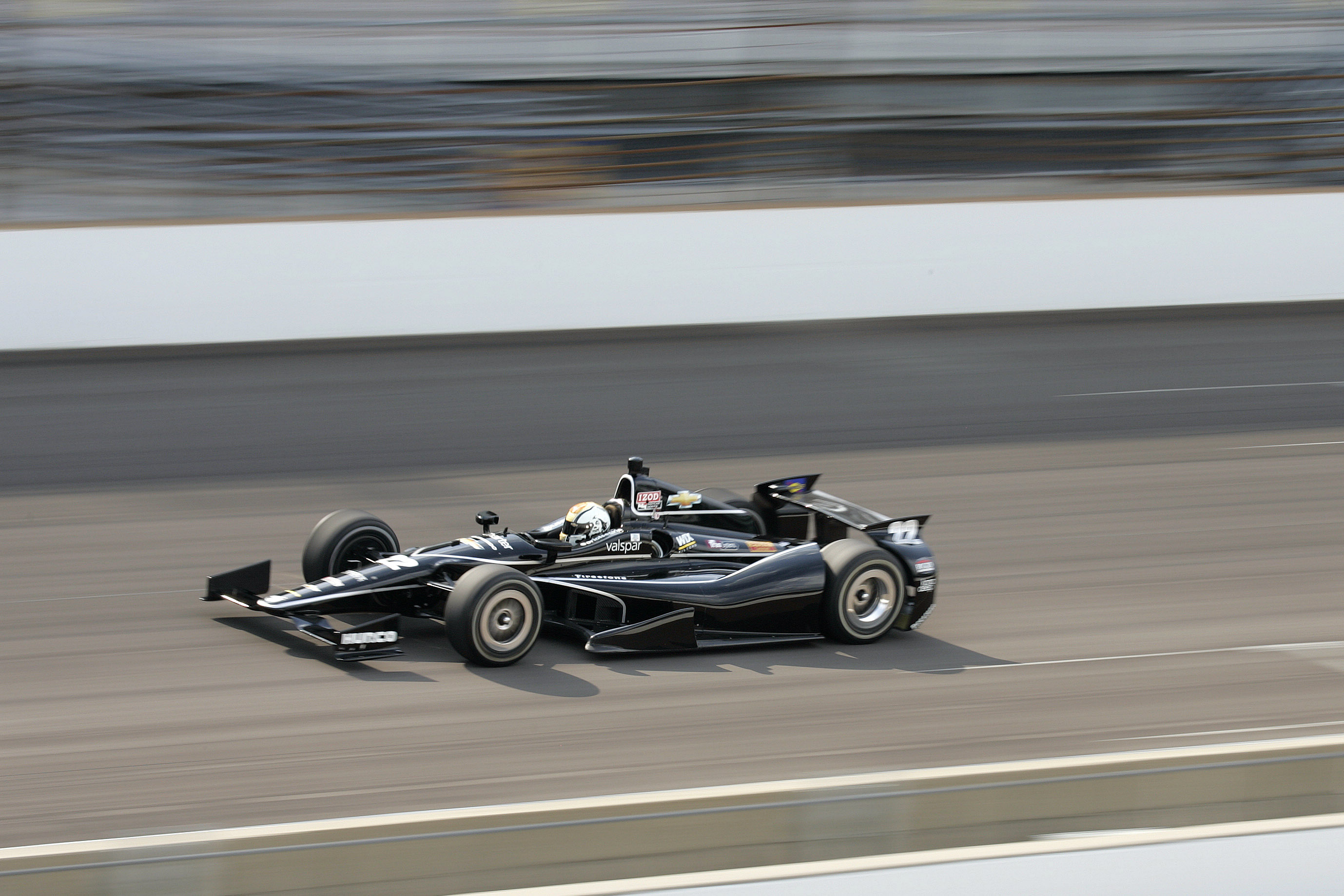 Oriol Servia Indy 500 2012