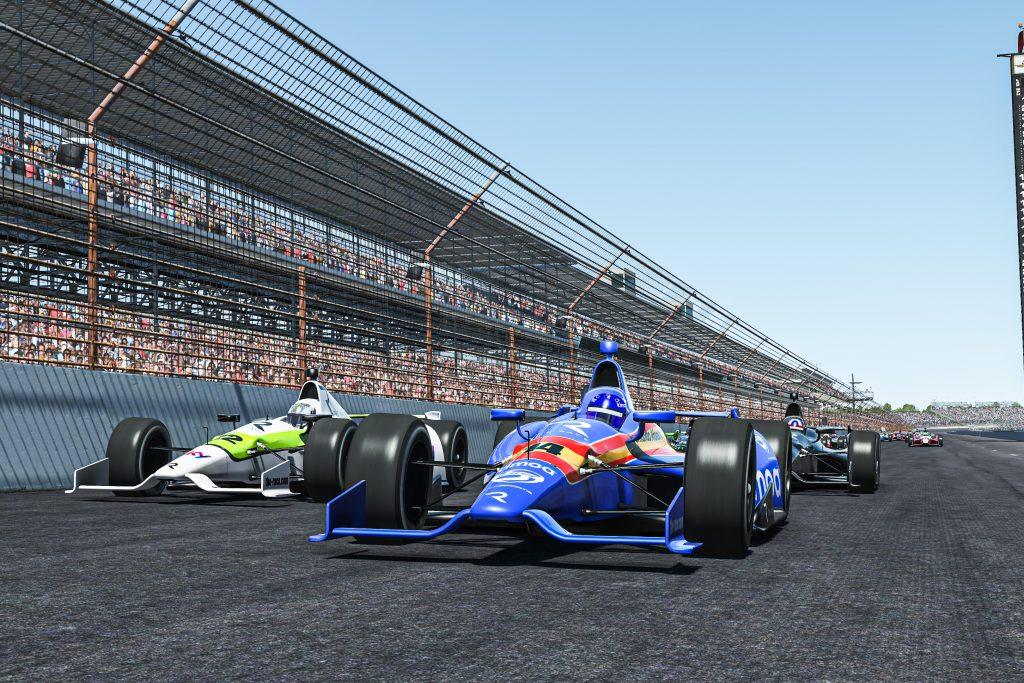 Alonso beats Button to win Legends race at Indy - The Race